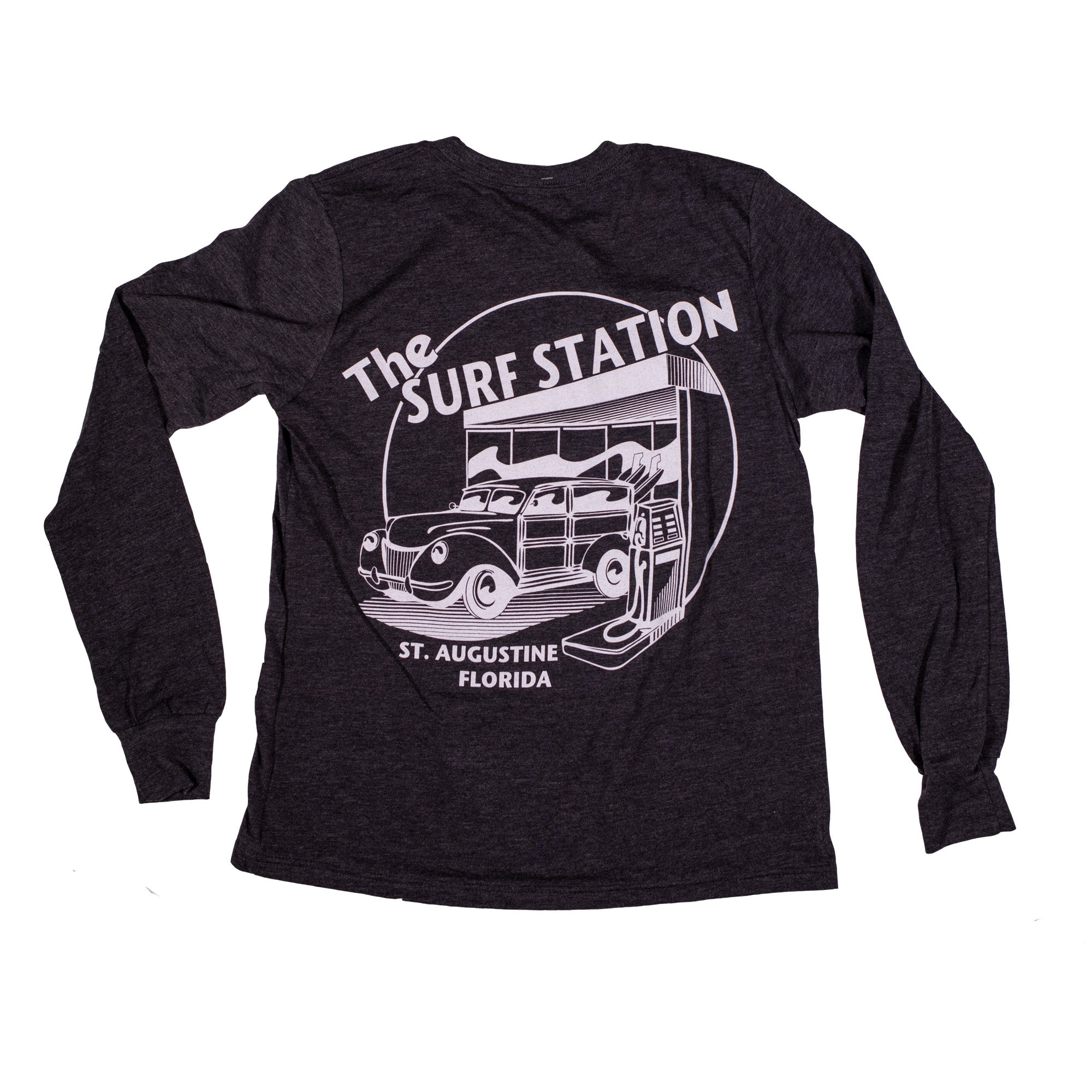 Surf Station Circle Woody Youth L/S T-Shirt