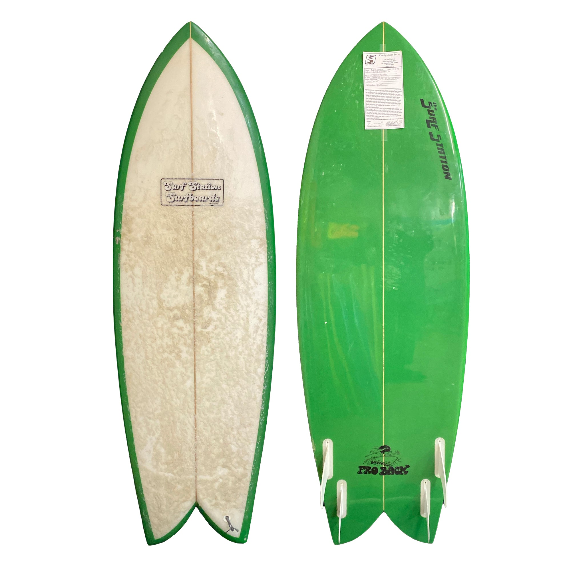 Surf Station Fro Back 5'8 Used Surfboard