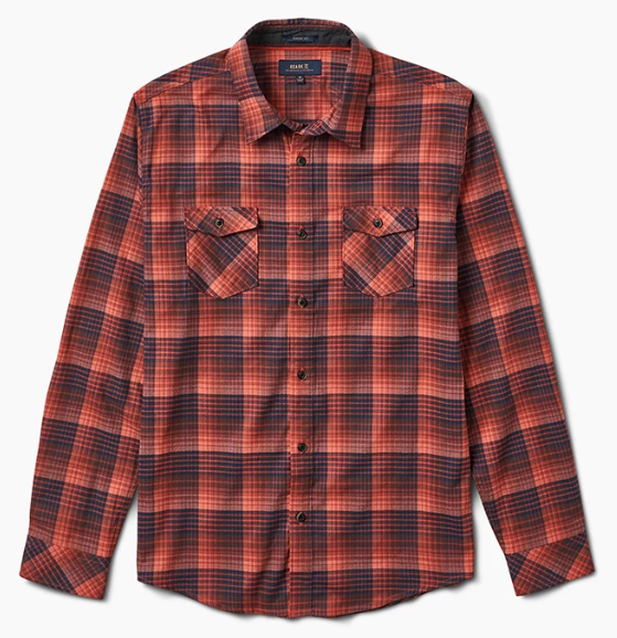 Roark Portree Men's Long Sleeve Flannel