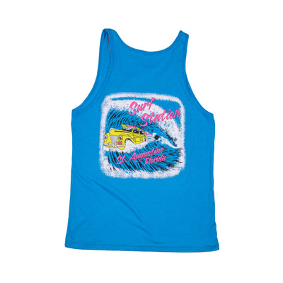 Surf Station Shooting Barrel Men's Tank Top