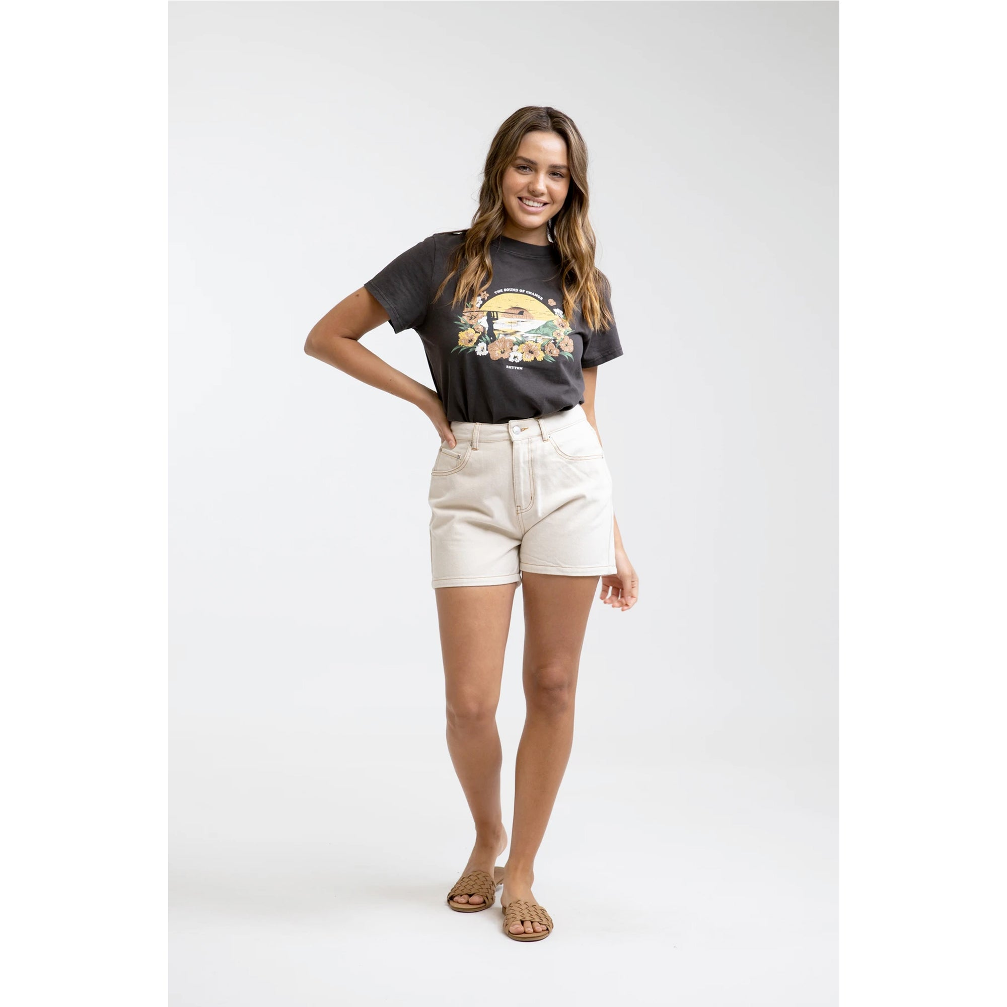Rhythm Sundown Vintage Women's S/S T-Shirt