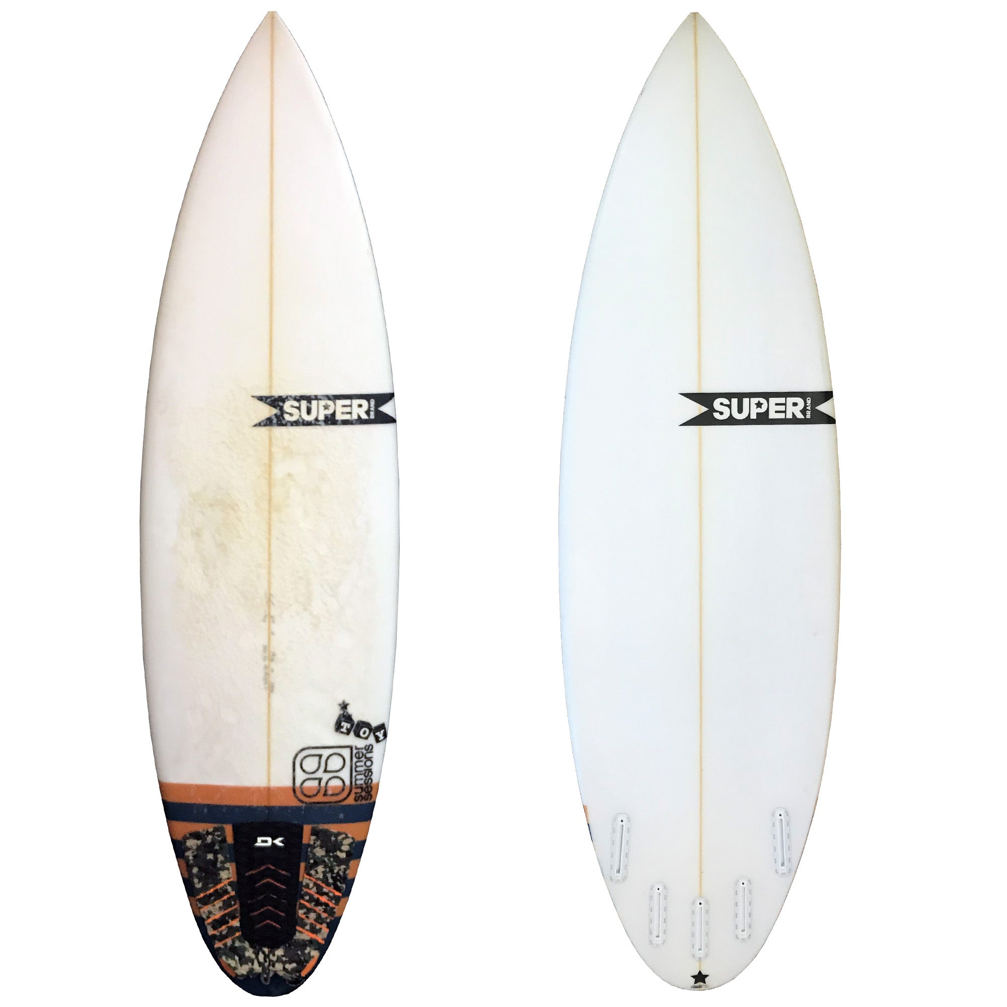 Super Brand Toy 5'10 Used Surfboard
