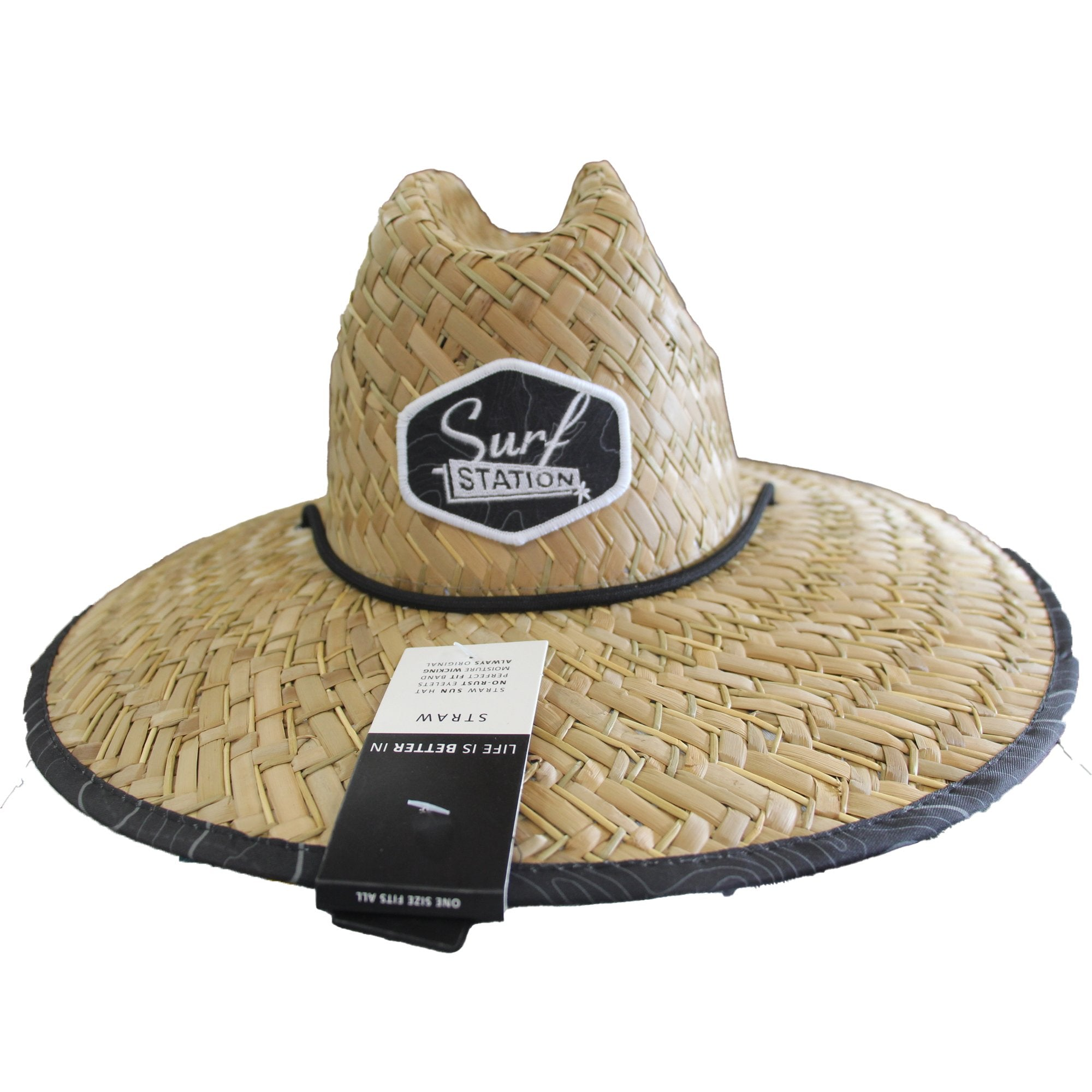 Surf Station Aerial Straw Lifeguard Hat