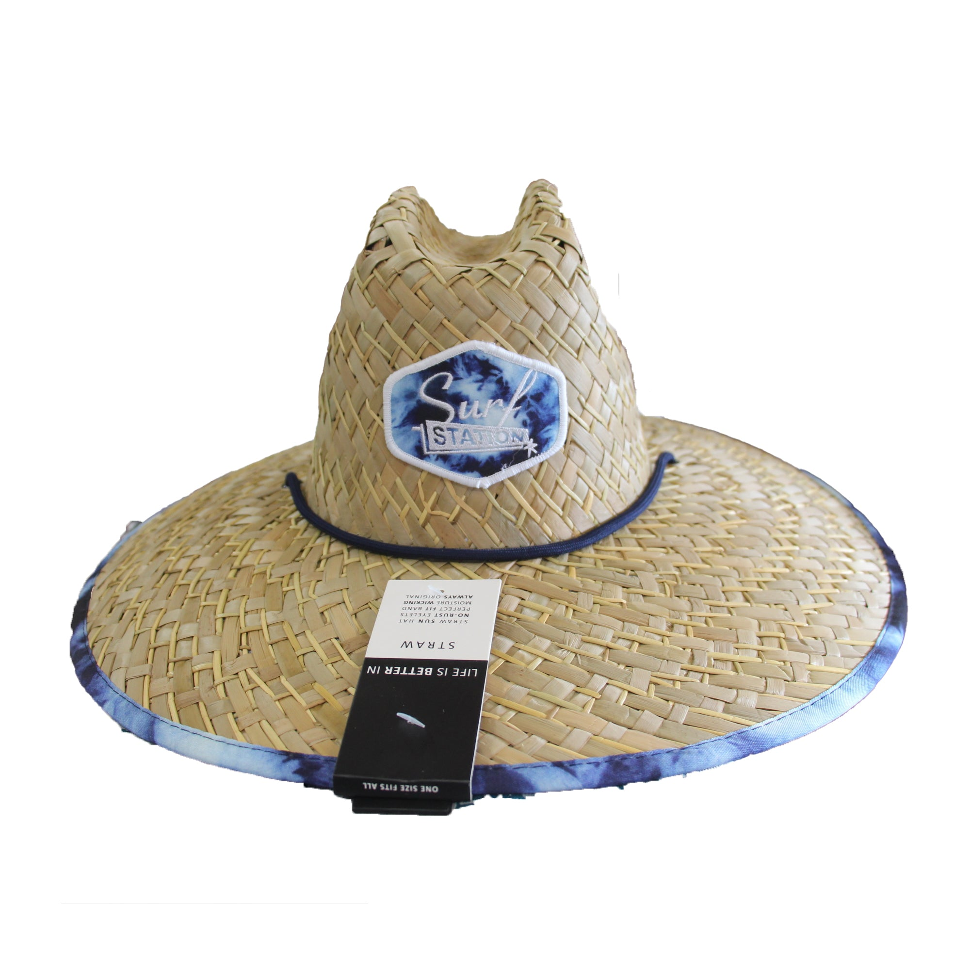 Surf Station Collusion Straw Lifeguard Hat