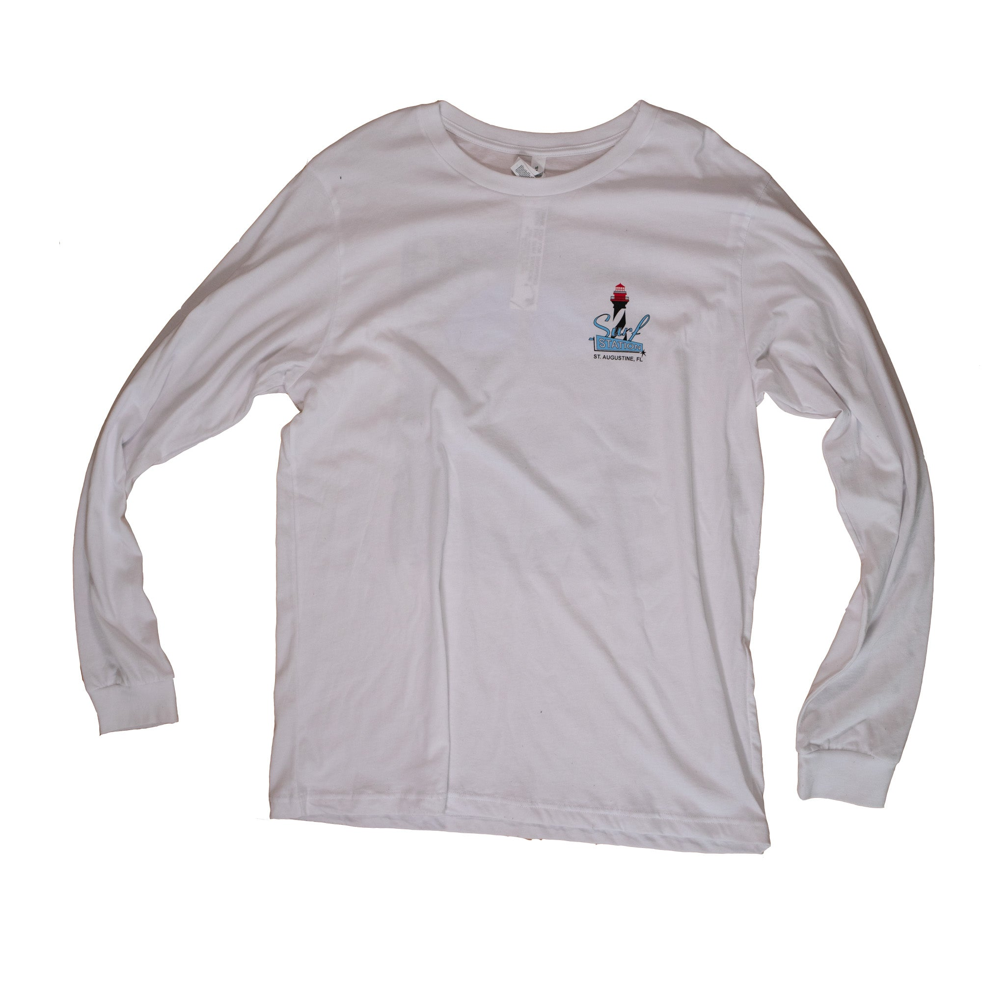 Surf Station Lighthouse Men's L/S T-Shirt