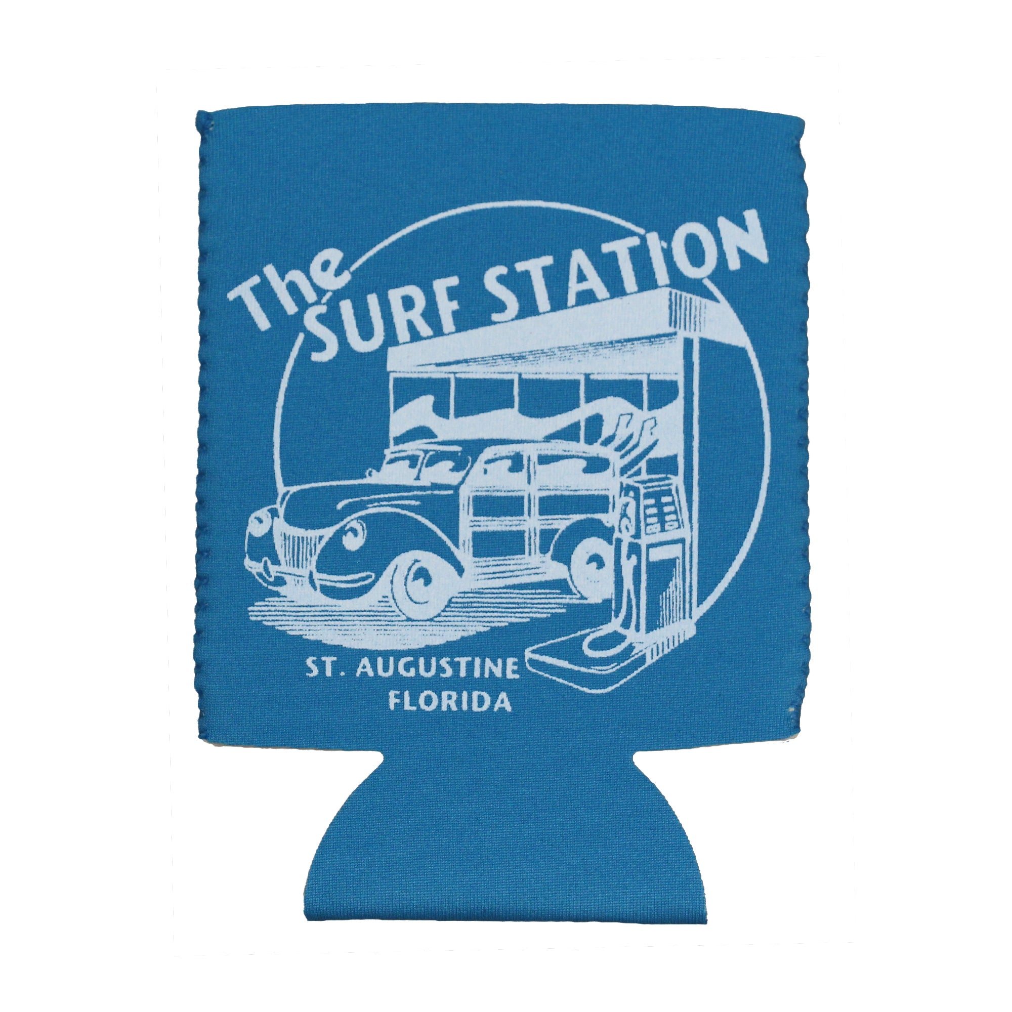 Surf Station Neoprene Koozie