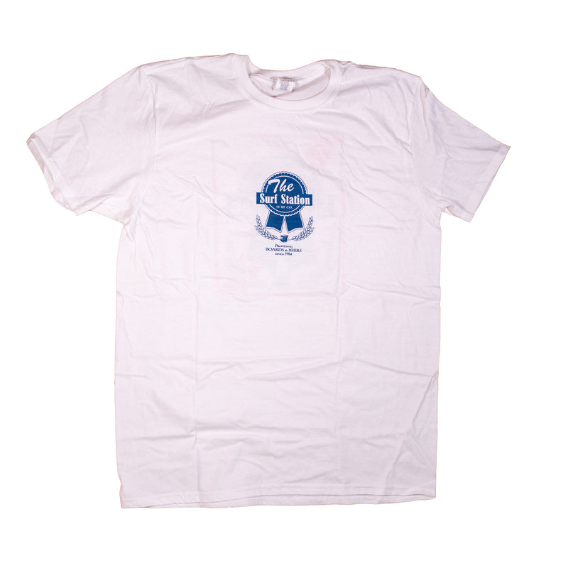 Surf Station Pabst Surf Co Men's S/S T-Shirt