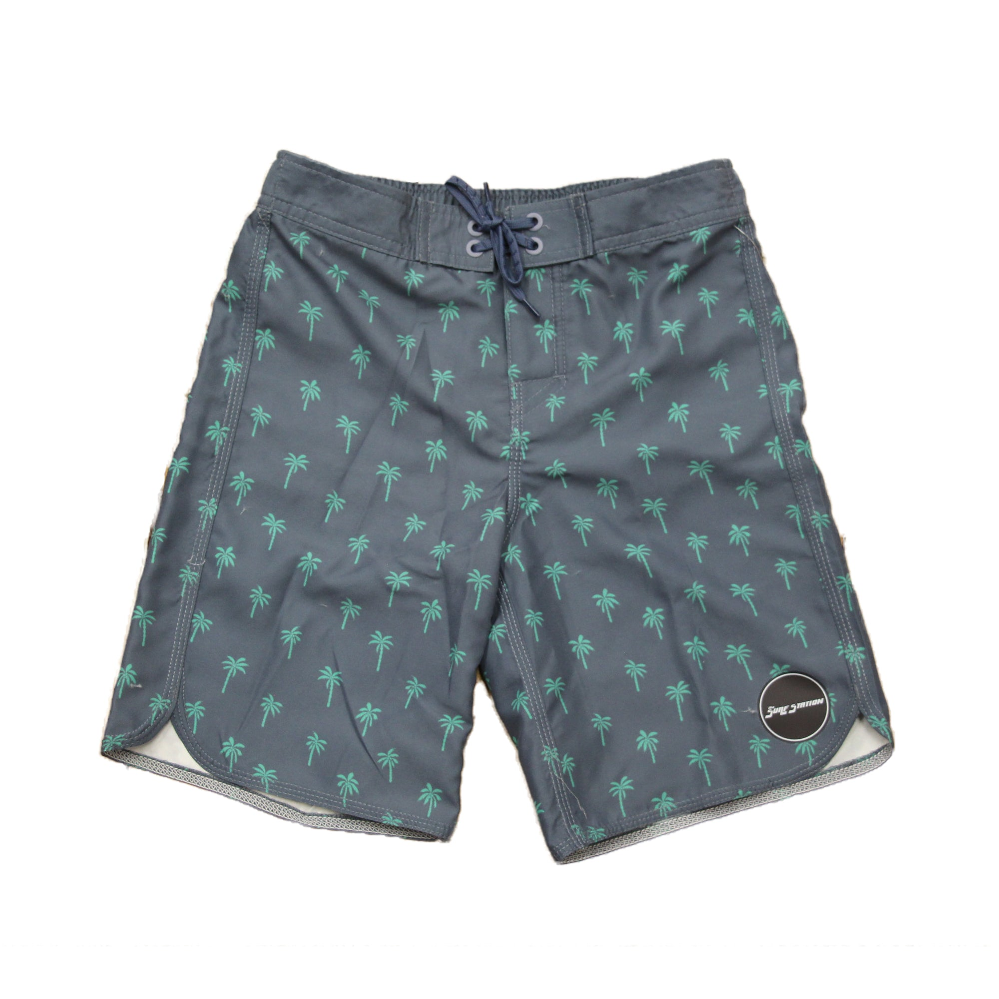 Surf Station Palm Toddler Boy's Boardshorts