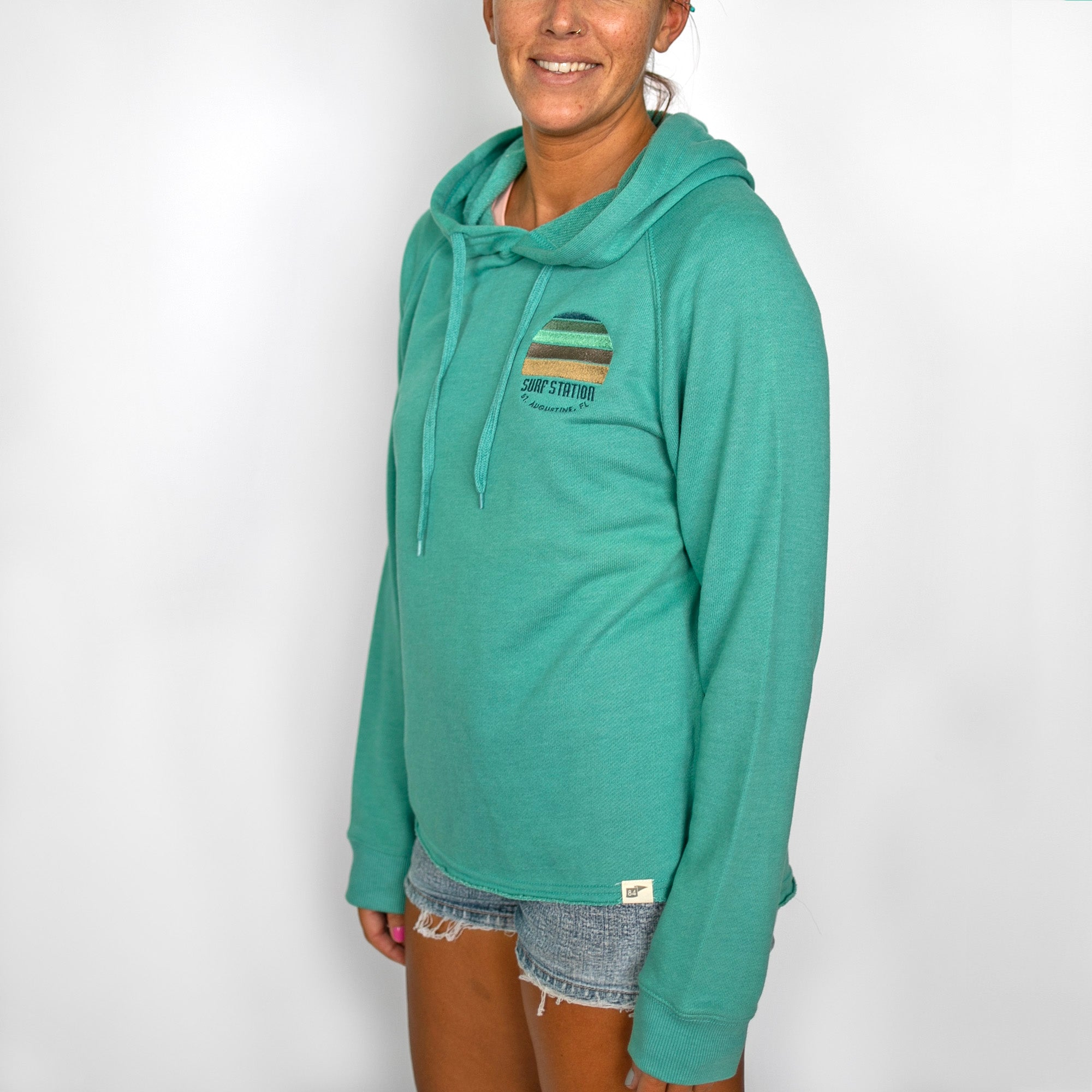 Surf Station Sunset Women's Hoodie