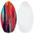 "Surface 40"" Wood Skimboard - Red"
