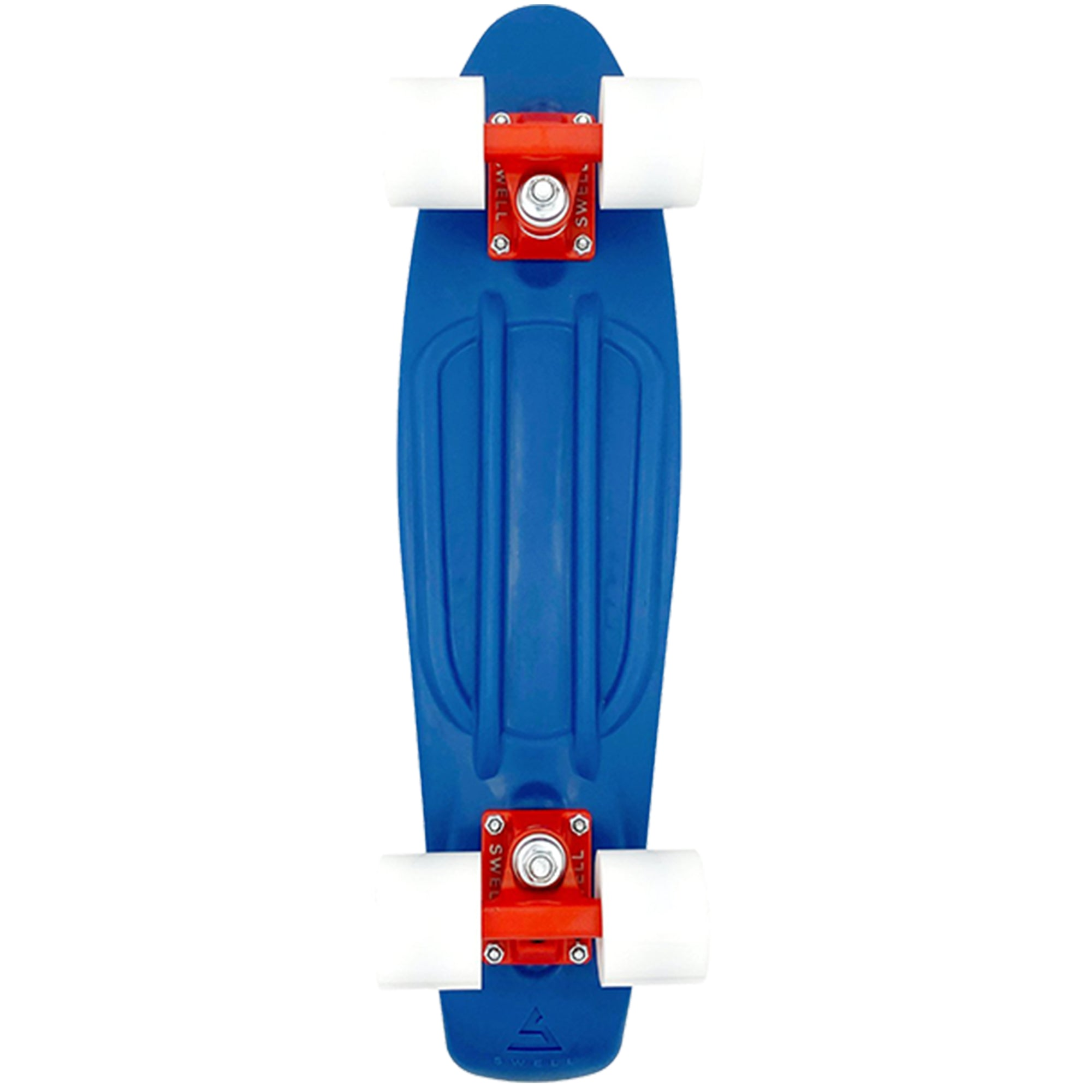 "Swell Ocean 22"" Complete Skateboard - Blue/Red/White"