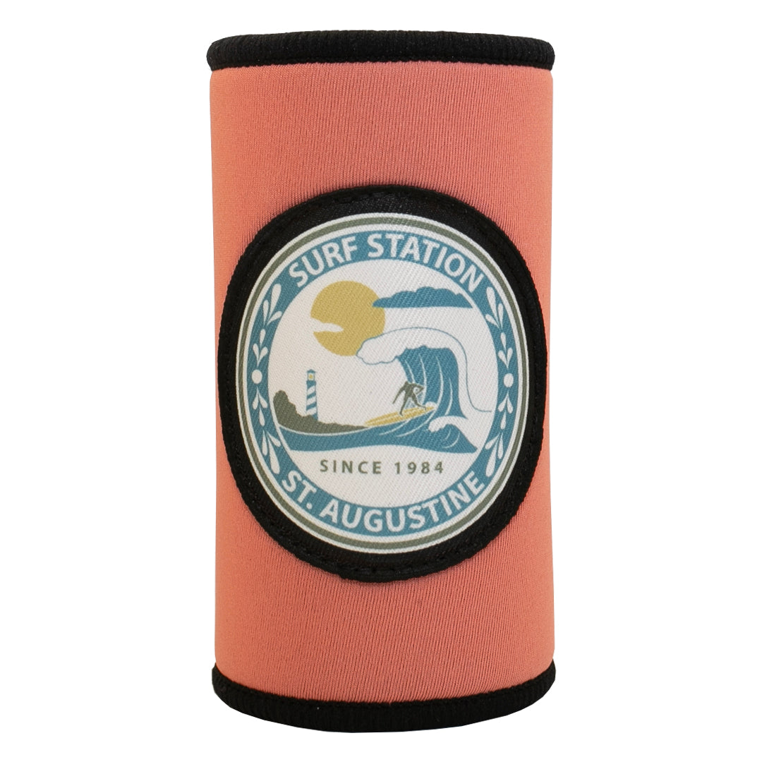 Surf Station Swell Cruzie Neoprene Slim Can Koozie