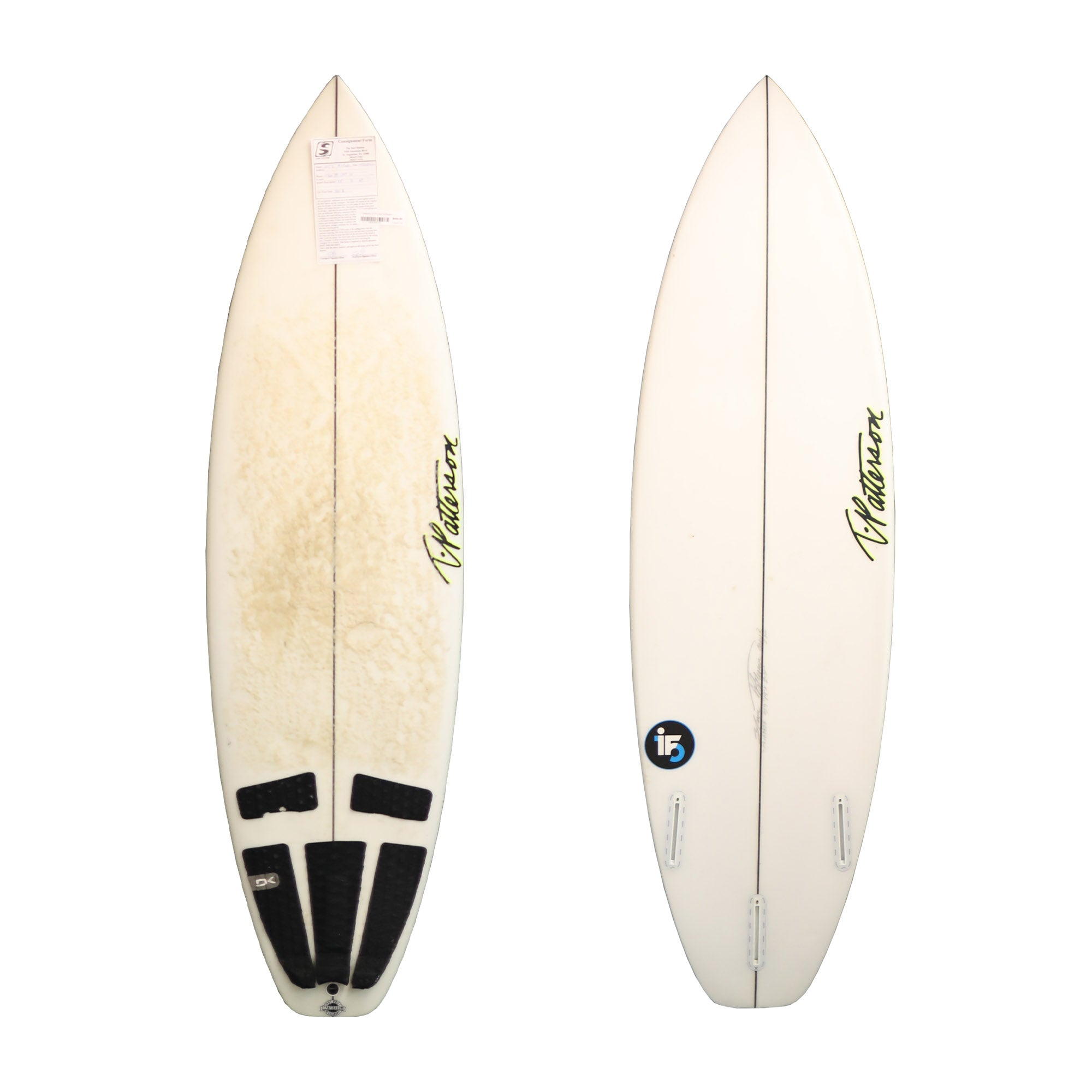 T. Patterson i5 5'9 Used Surfboard