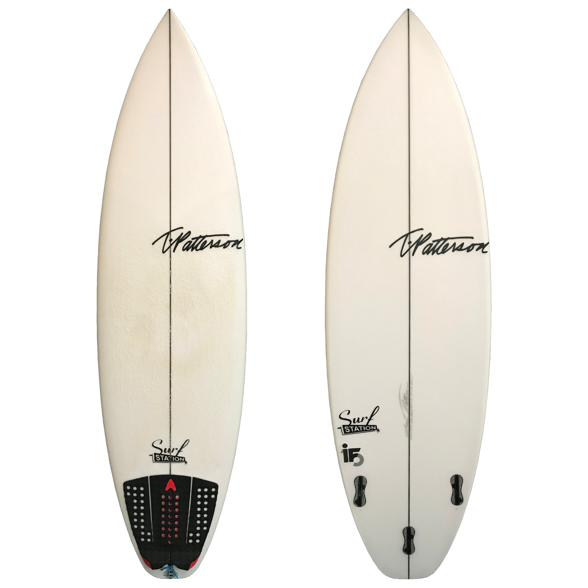 T. Patterson IF-15 5'8 Used Surfboard
