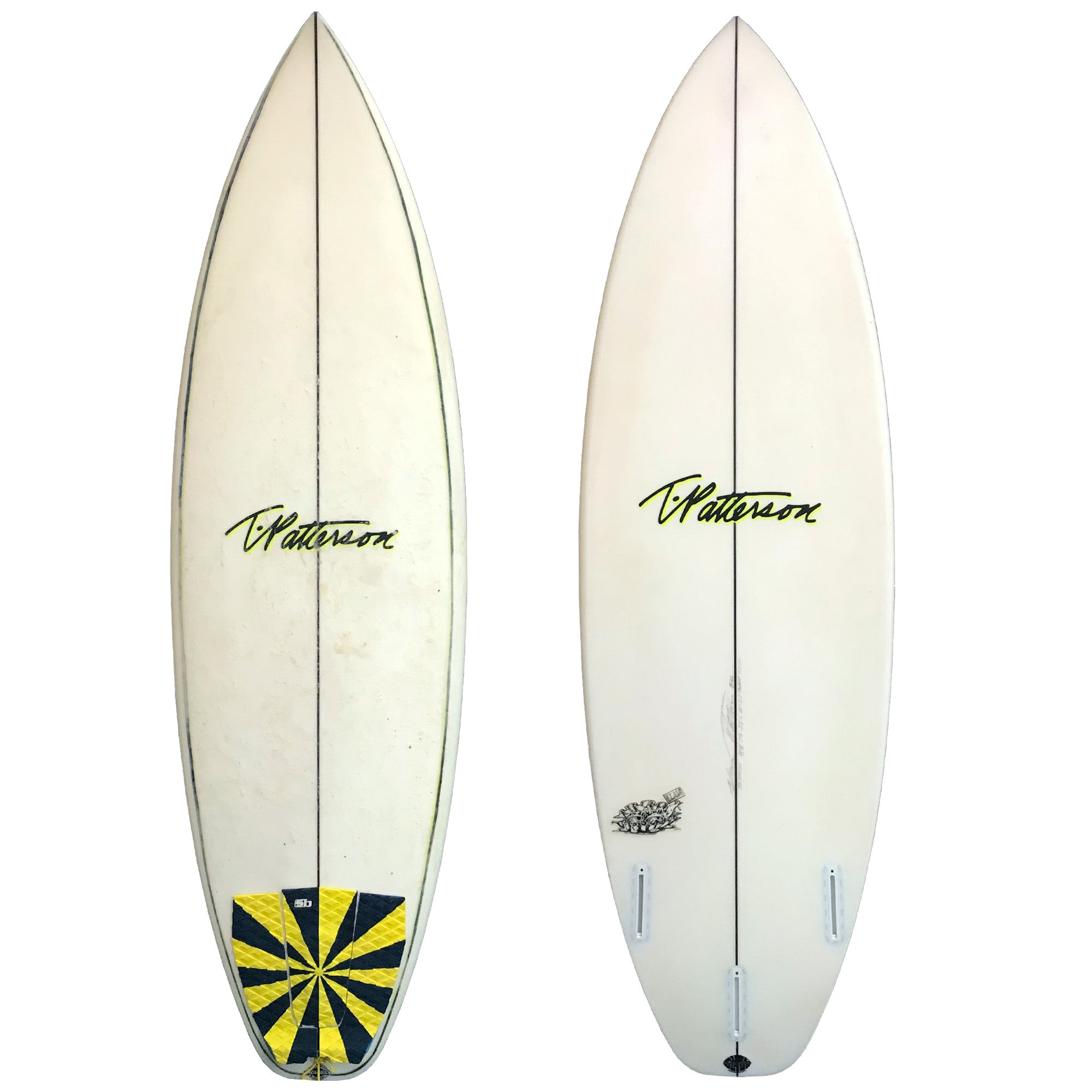 T. Patterson The Clam 5'8 Used Surfboard