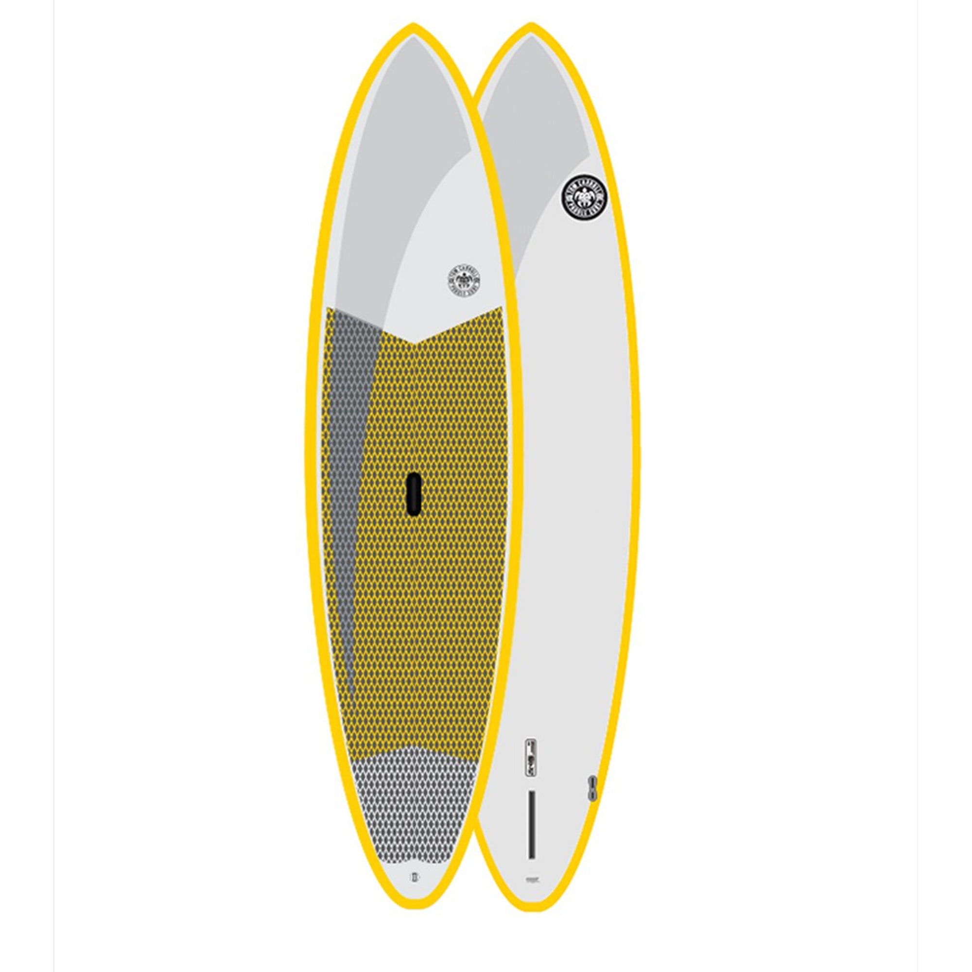 Tom Carroll Outer Reef Stand Up 11'6 Paddleboard - Yellow