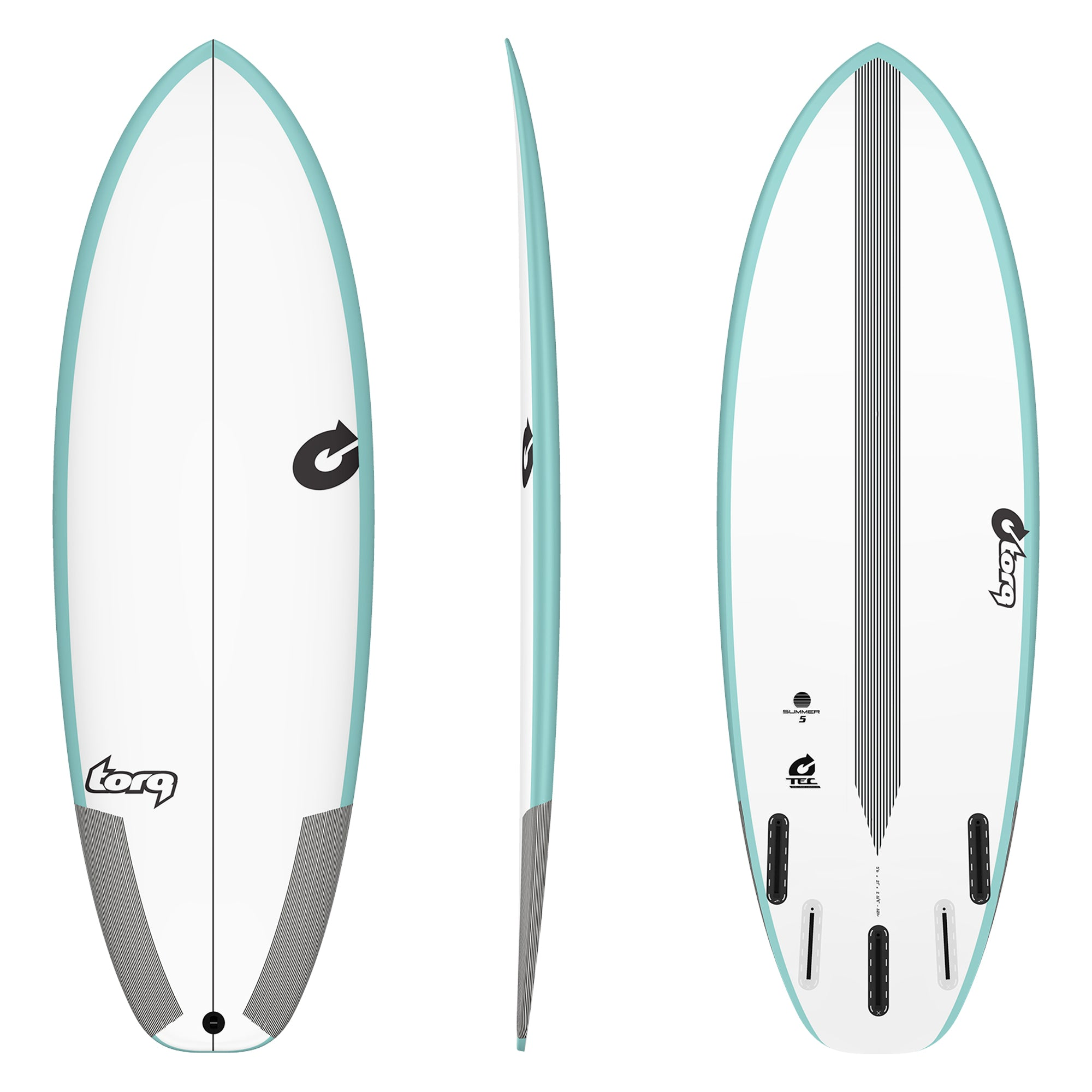 Torq Summer Five TEC Surfboard - Futures