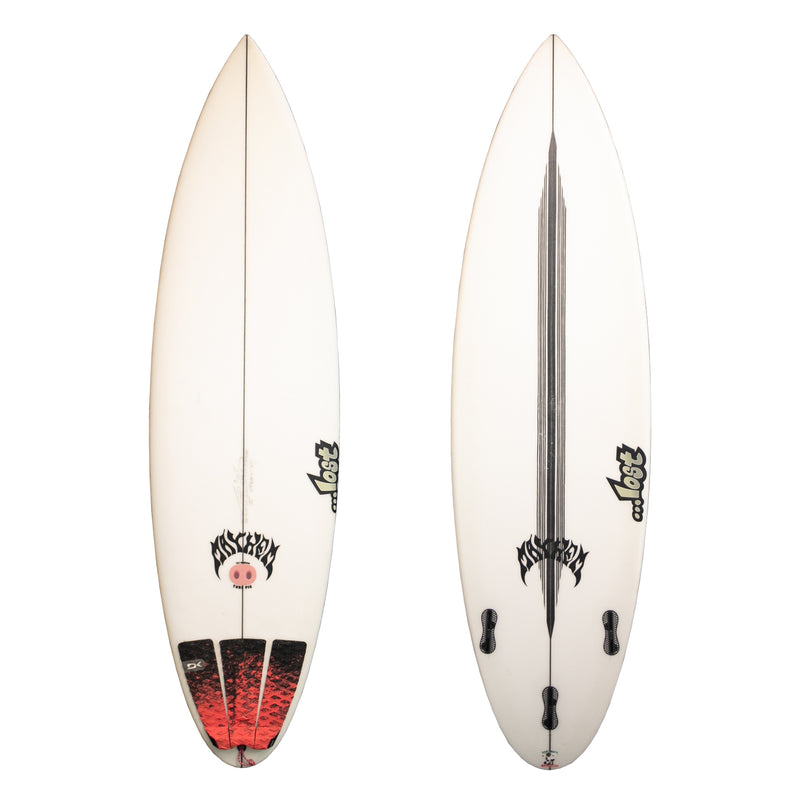 Lost Taj Tube Pig 5'10 Used Surfboard