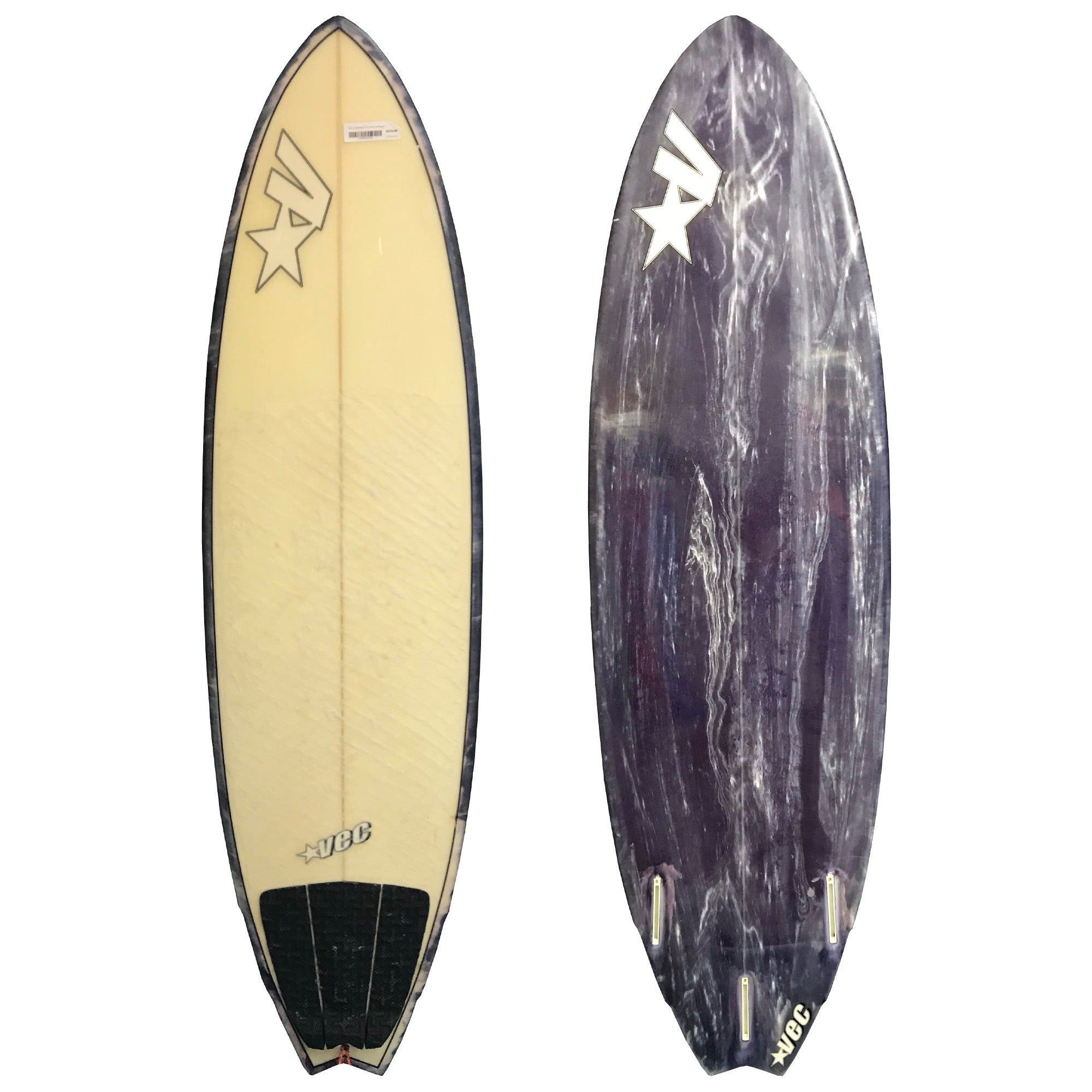 VEC Surfboards 5'10 Used Surfboard