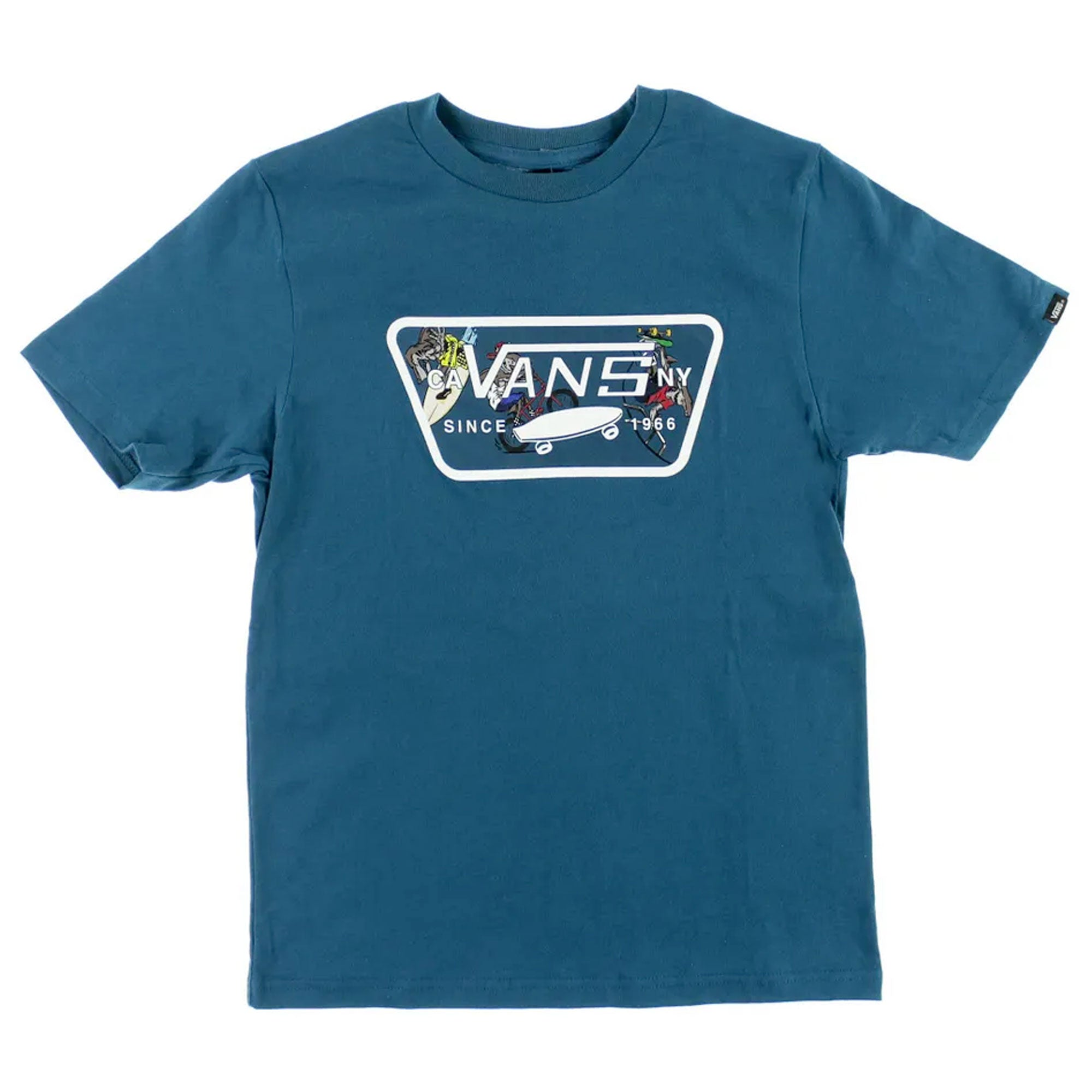 Vans Classic Full Patch Boys S/S T-Shirt