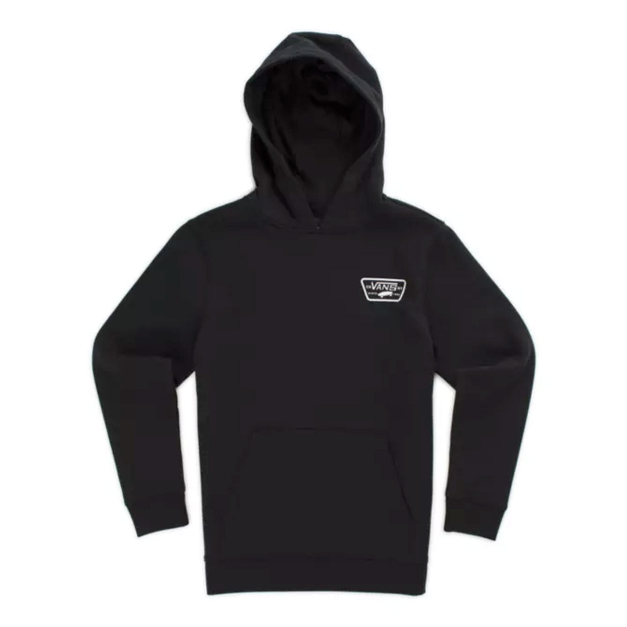 Vans Full Patched Men's Pullover Hoodie - Black