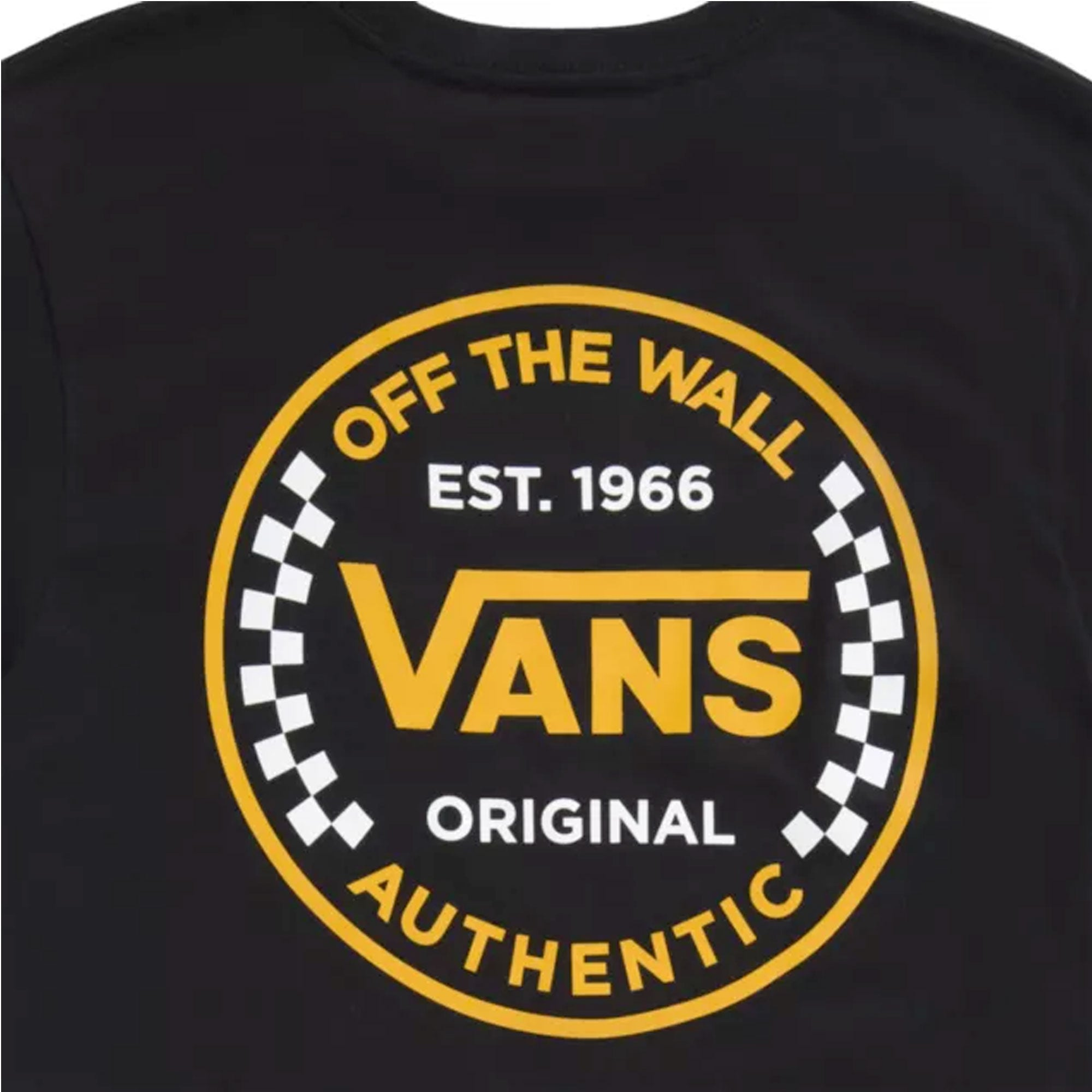 Vans Authentic Checker Kids Boys S/S T-Shirt