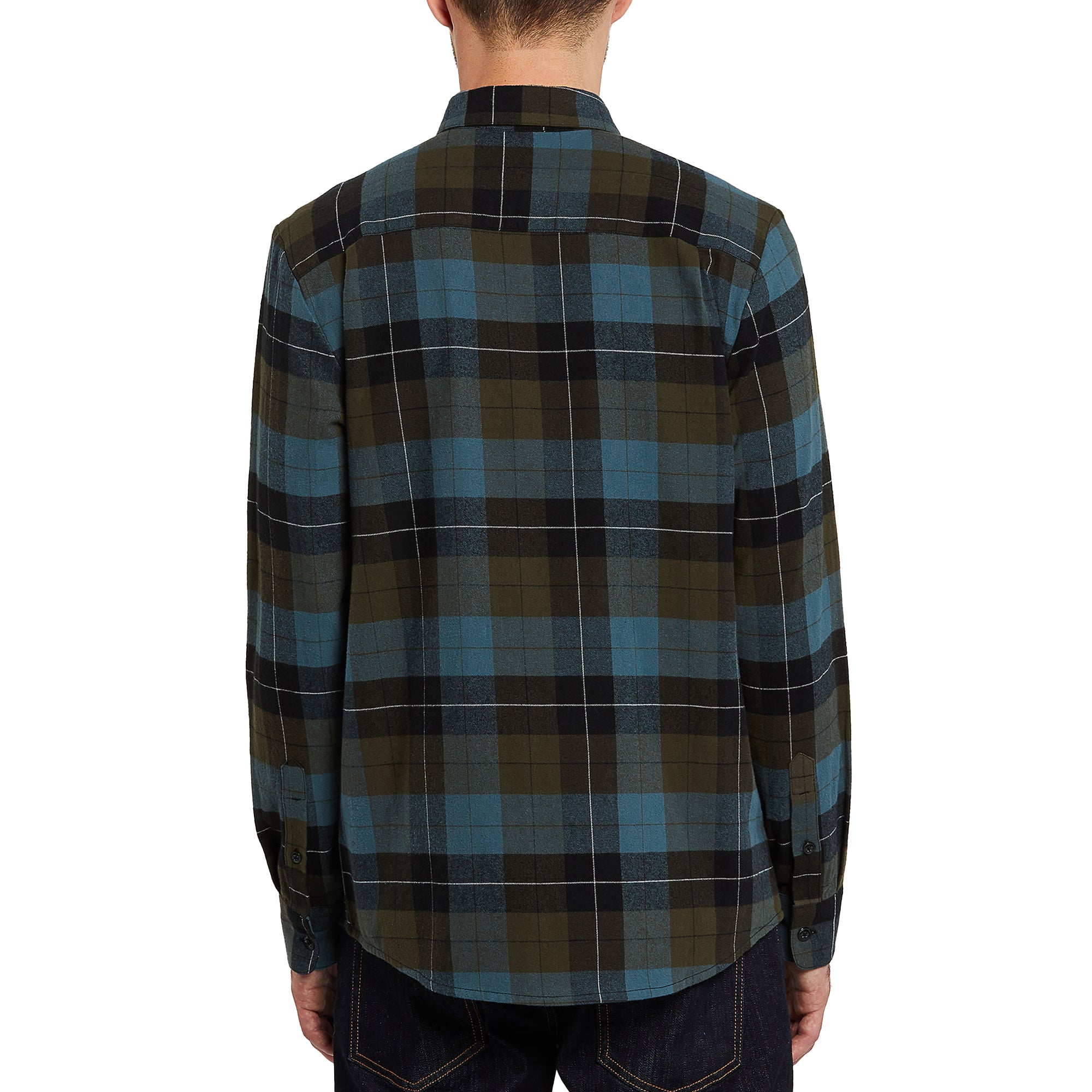 Volcom Caden Plaid Men's L/S Flannel