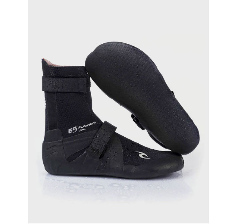 Rip Curl FlashBomb 3mm Hidden Split Toe Wetsuit Booties