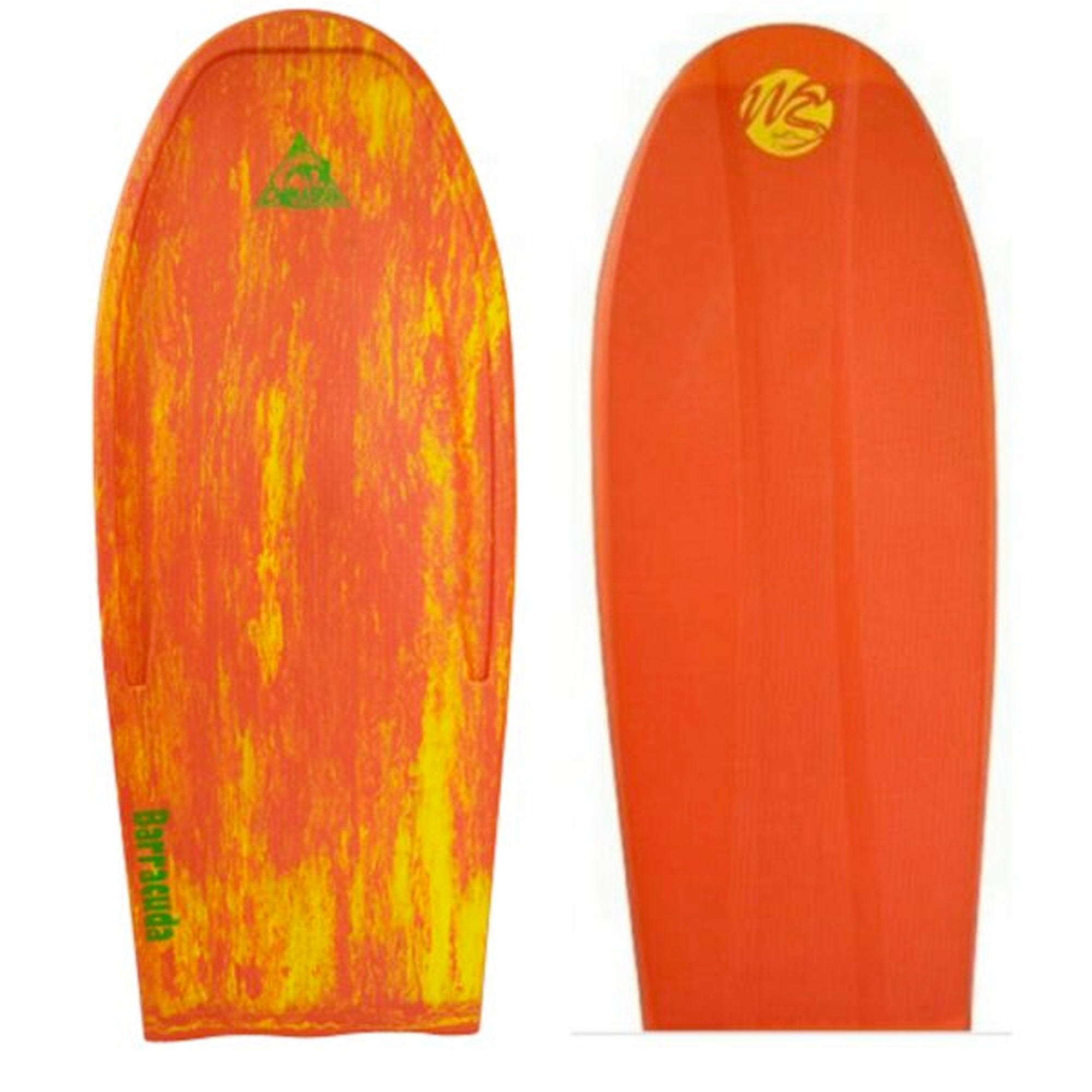 "Wave Skater Pro Chimaera Barracuda II 54"" Bodyboard - Red/Yellow"