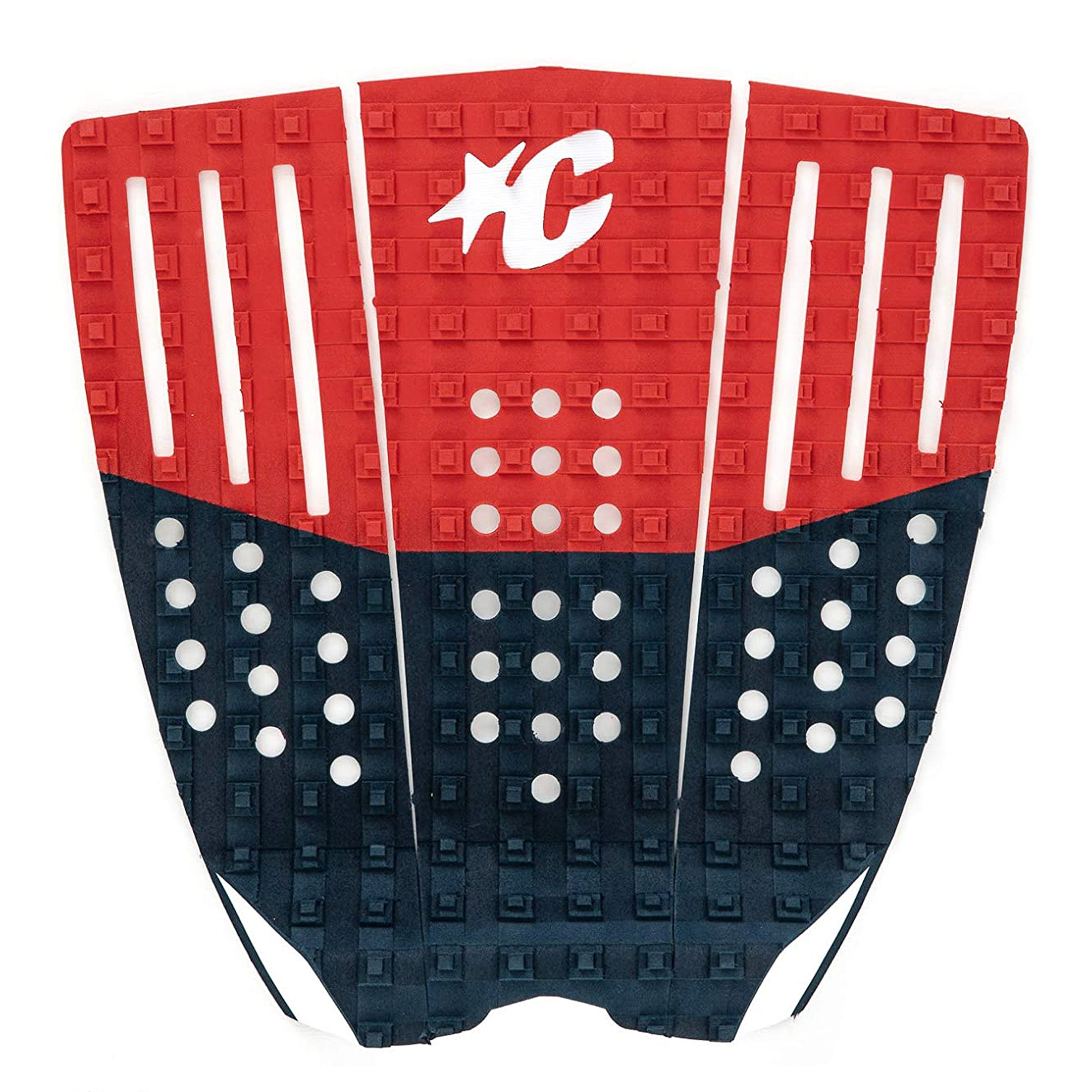 Creatures of Leisure Reliance III Block Traction Pad - Navy/Red/White