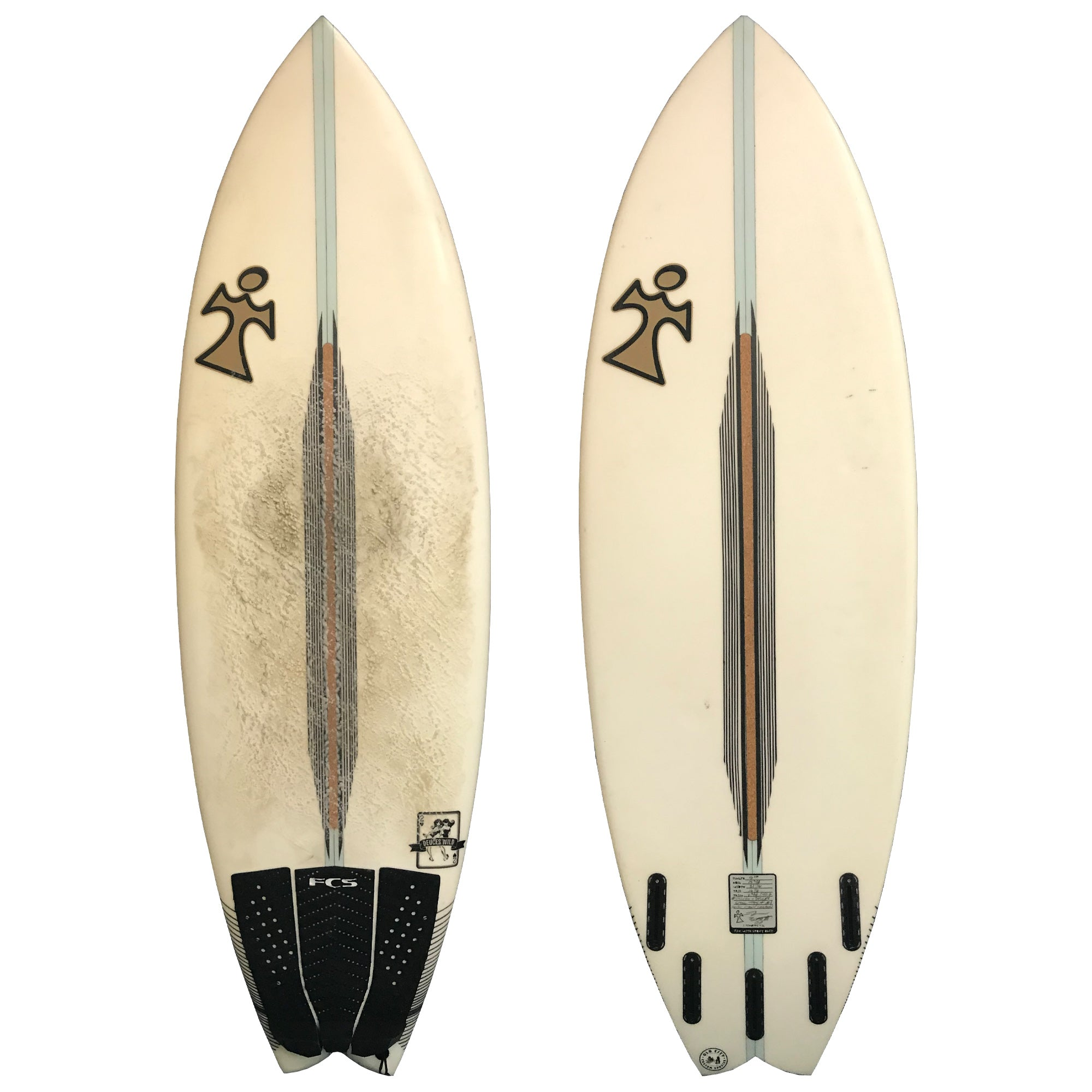 Inspired Surfboards Wild Deuces 5'10 Used Surfboard