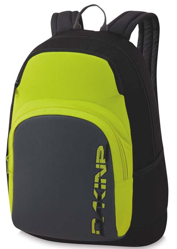 Dakine Central 26 Backpack - Black/Yellow