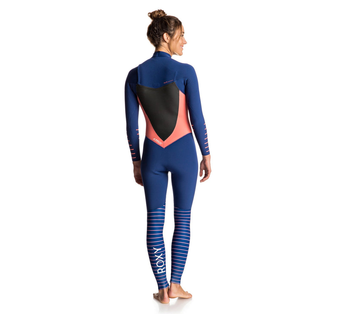 Roxy Syncro Plus 3/2 Chest-Zip Women's Fullsuit Wetsuit
