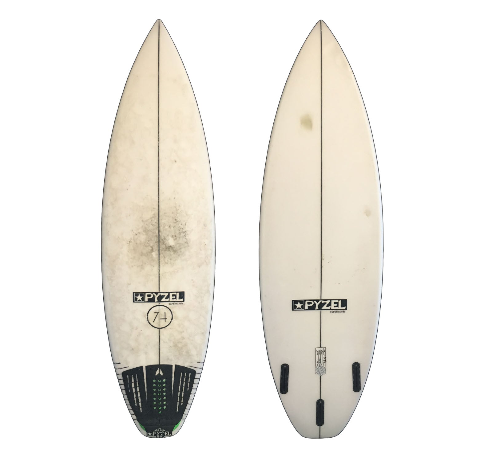 Pyzel 74 5'7 Used Surfboard