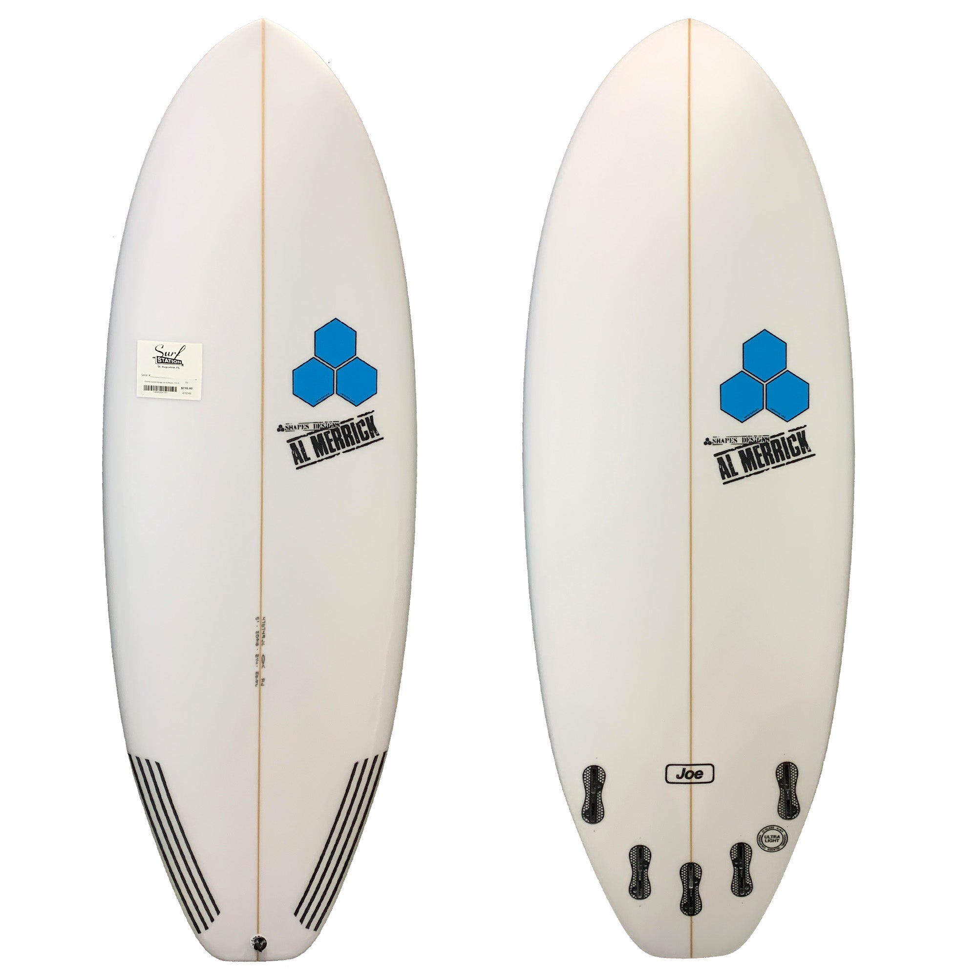 Channel Islands Average Joe Surfboard - FCS II