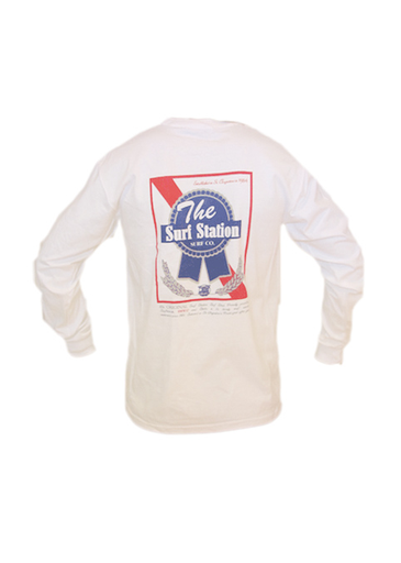Surf Station Pabst Surf Co Men's L/S T-Shirt