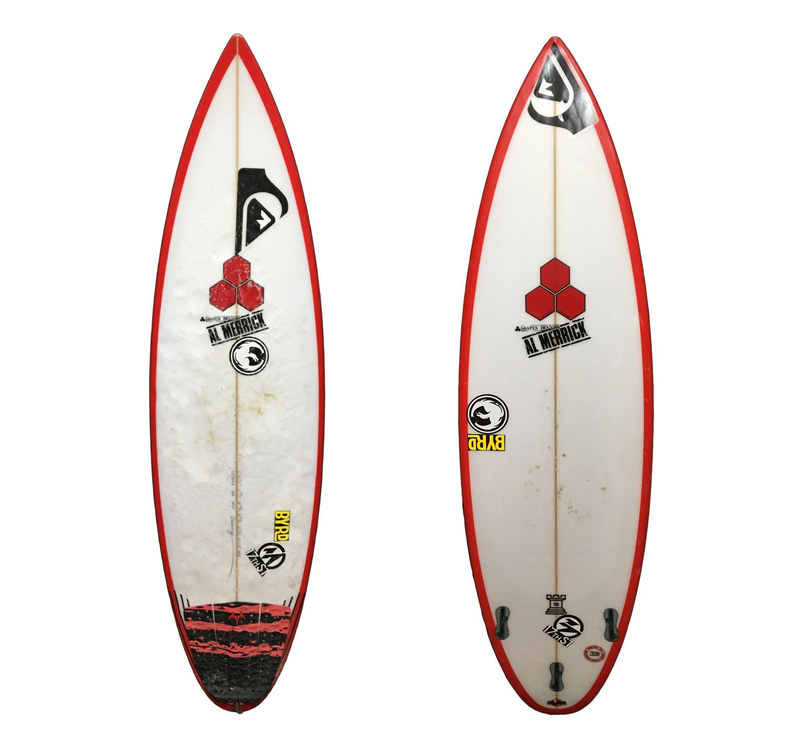 Channel Islands Rookie 15 5'10 1/2  x 18 5/8 x 2 5/16 Used Surfboard (Team Custom For Michael Dunphy)