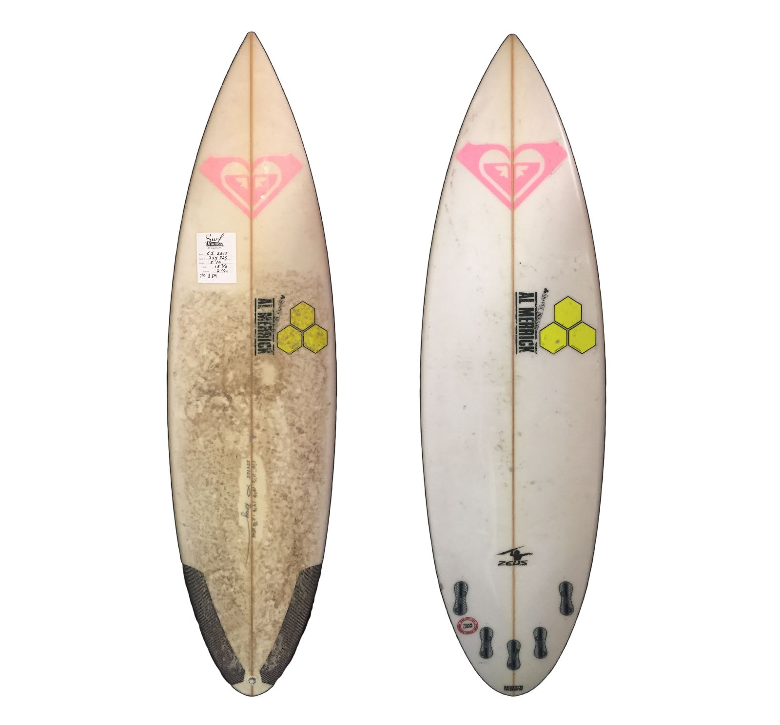 Channel Islands Zeus 5'10 Used Surfboard