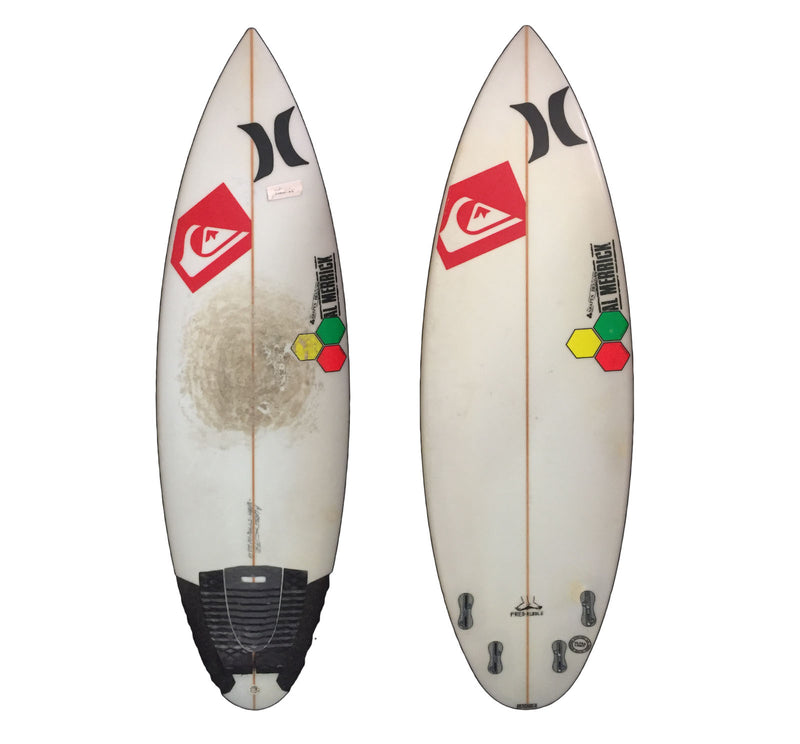Channel Islands Fred Rubble Quad 5'7 Used Surfboard
