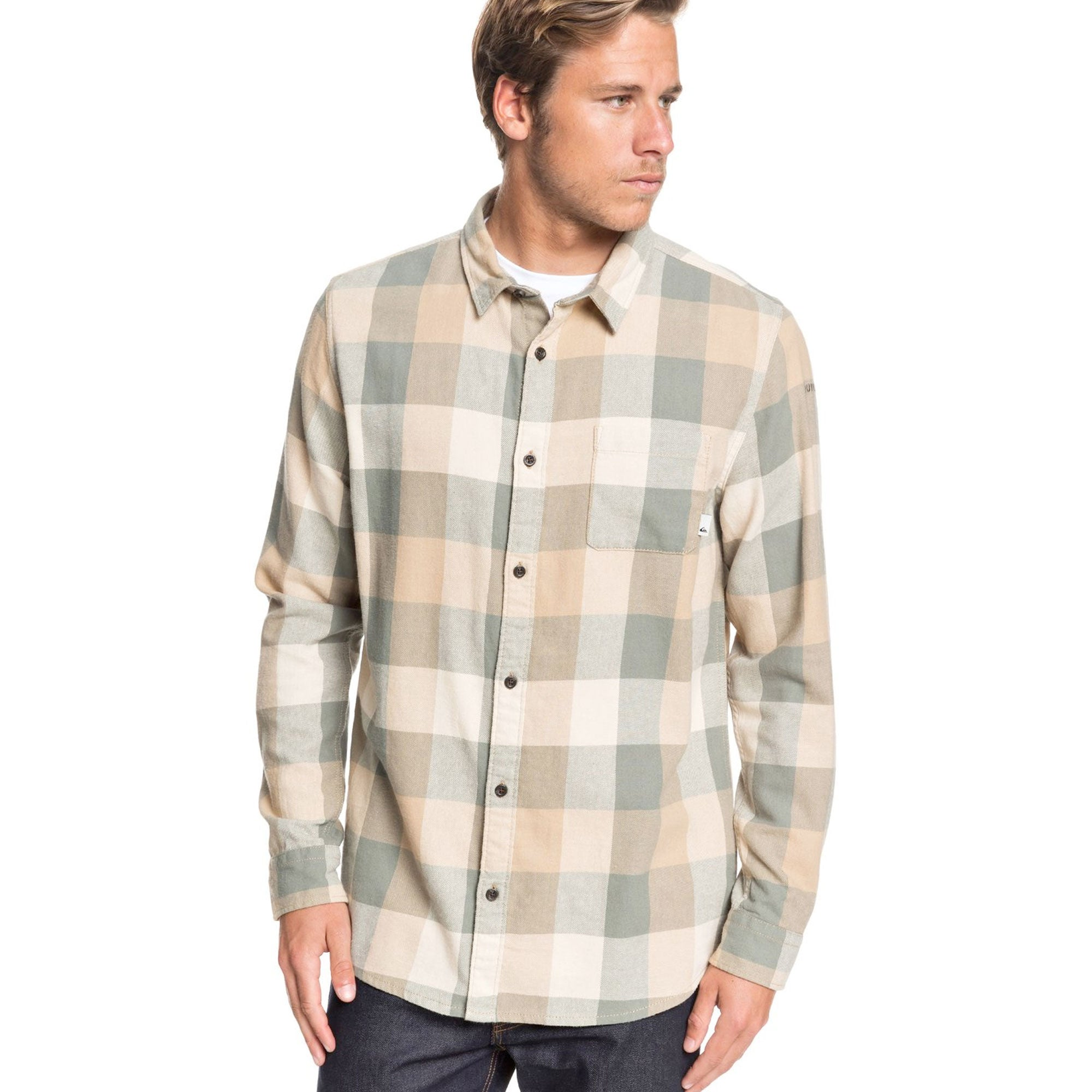 Quiksilver Motherfly Men's L/S Flannel Shirt
