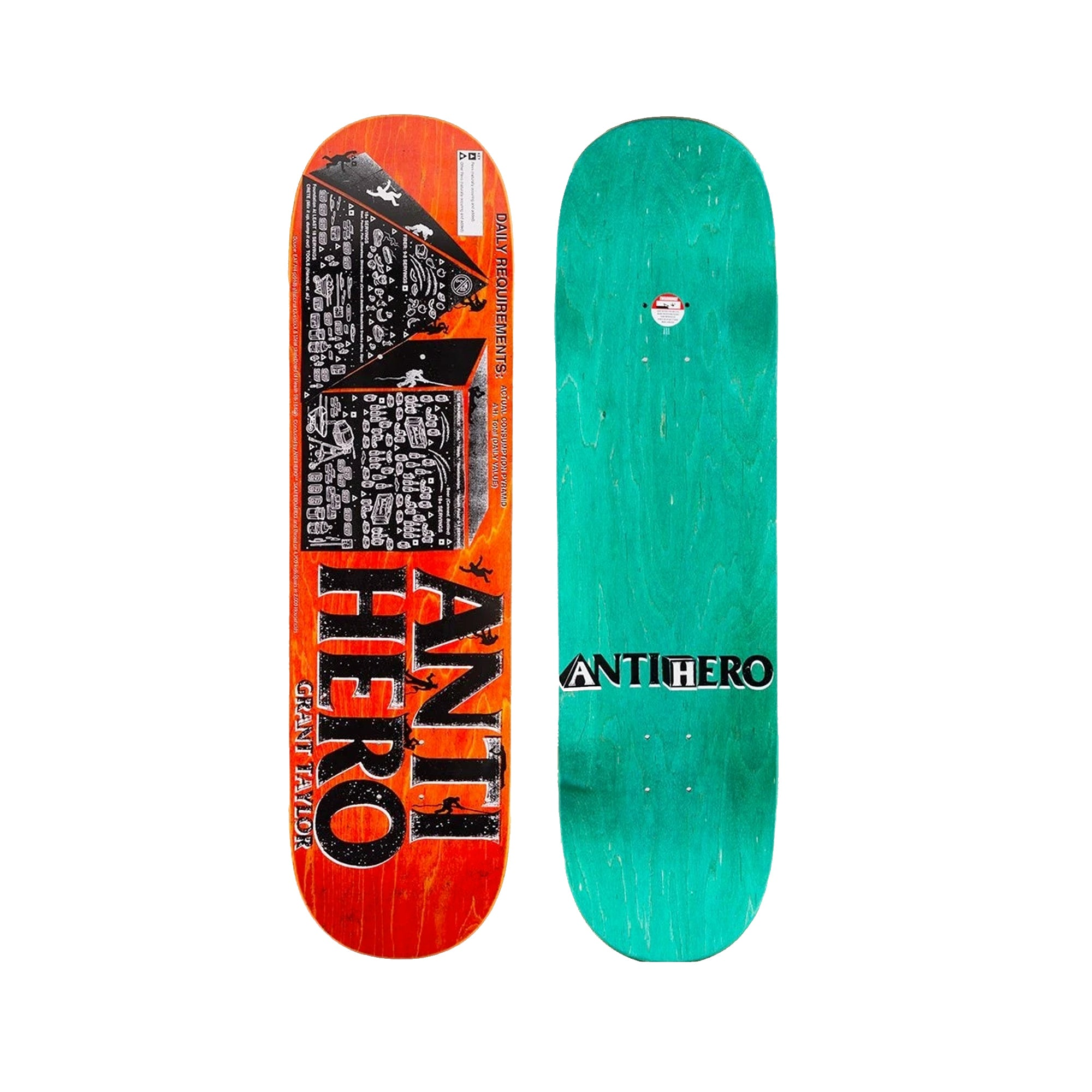 Anti-Hero Taylor Daily Required 8.75 Skateboard Deck