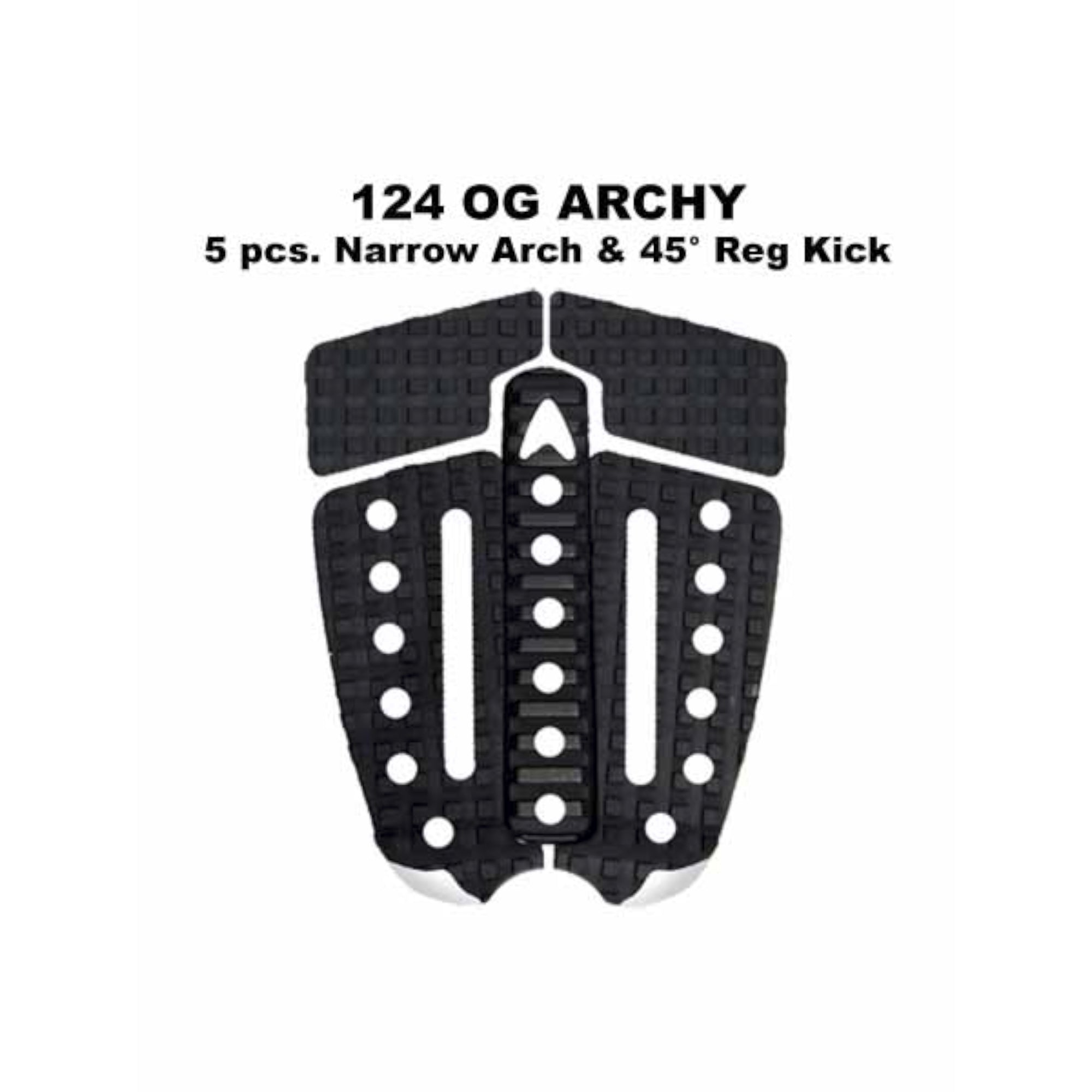 Astro Deck 124 OG Archy 5-Piece Narrow Arch Traction Pad