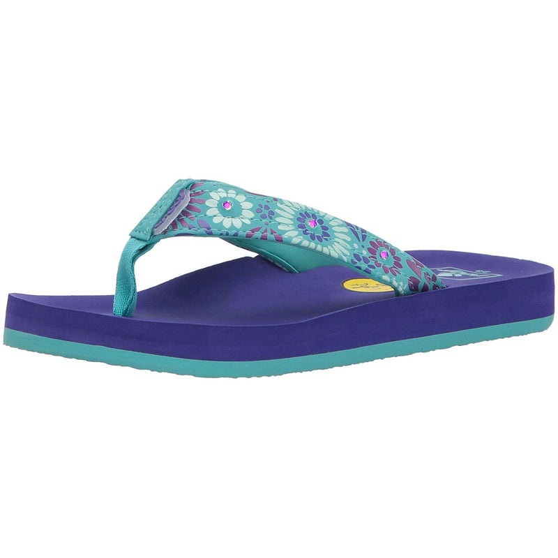 Reef Little Ahi Lights Youth Girl's Sandals