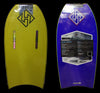 Hubboards Dubb PP Pro Plus, 42.5'' - Yellow/Purple
