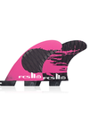 Fcs II Gabriel Medina PC Carbon Large Tri Fin Set