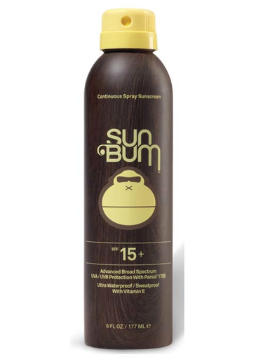 Sun Bum 6oz Continues Spray Sunscreen 15spf