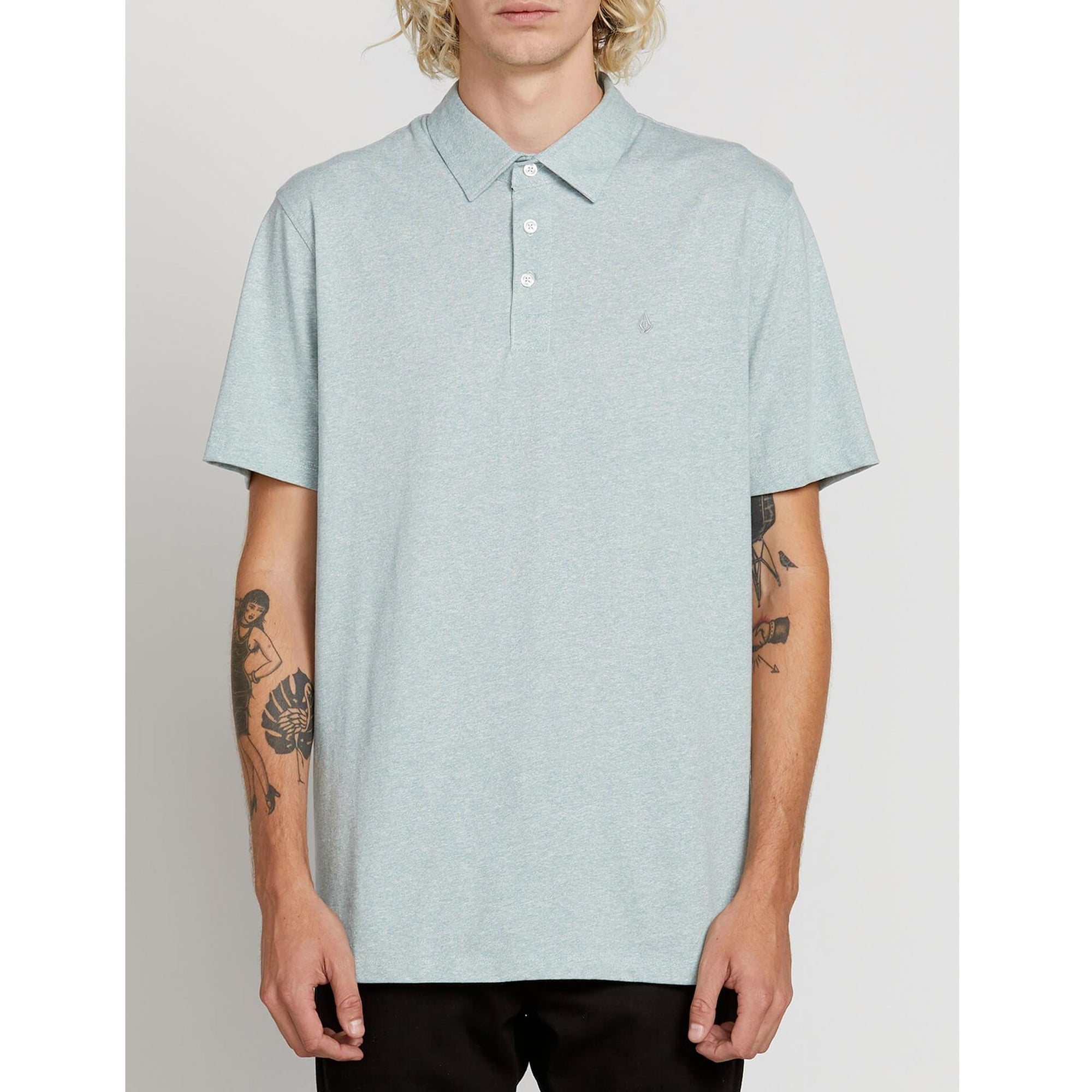 Volcom Wowzer Big Youth Boy's Polo S/S T-Shirt