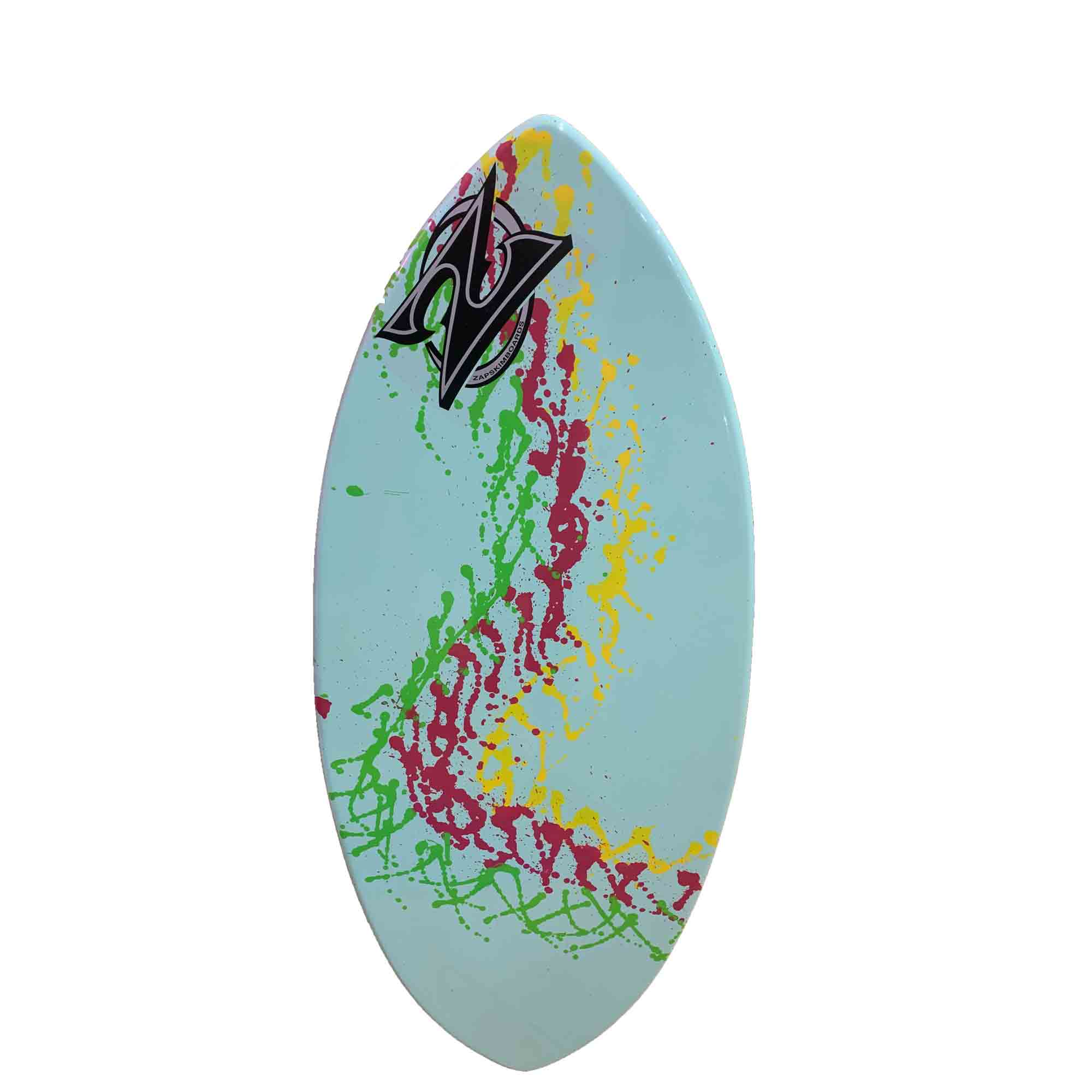 Zap Wedge Skimboard - Blue Splatter