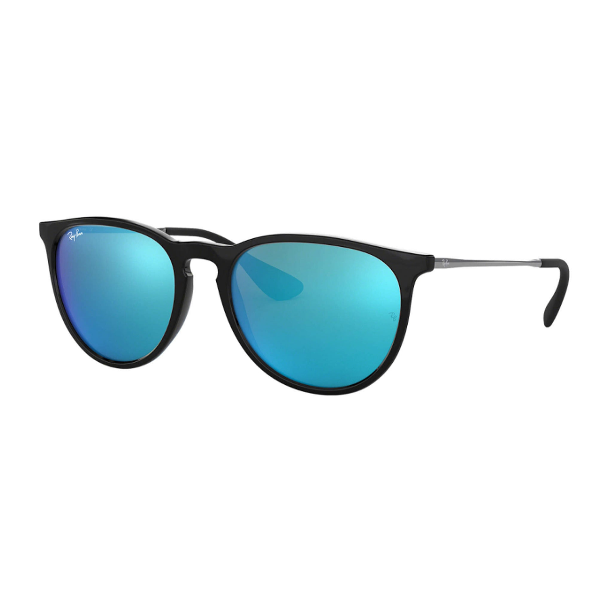 Ray-Ban Erika Women's Sunglasses - Black/Blue Mirror
