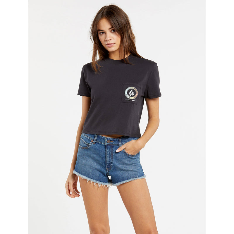 Volcom VPP Logo Women's Pocket S/S T-Shirt
